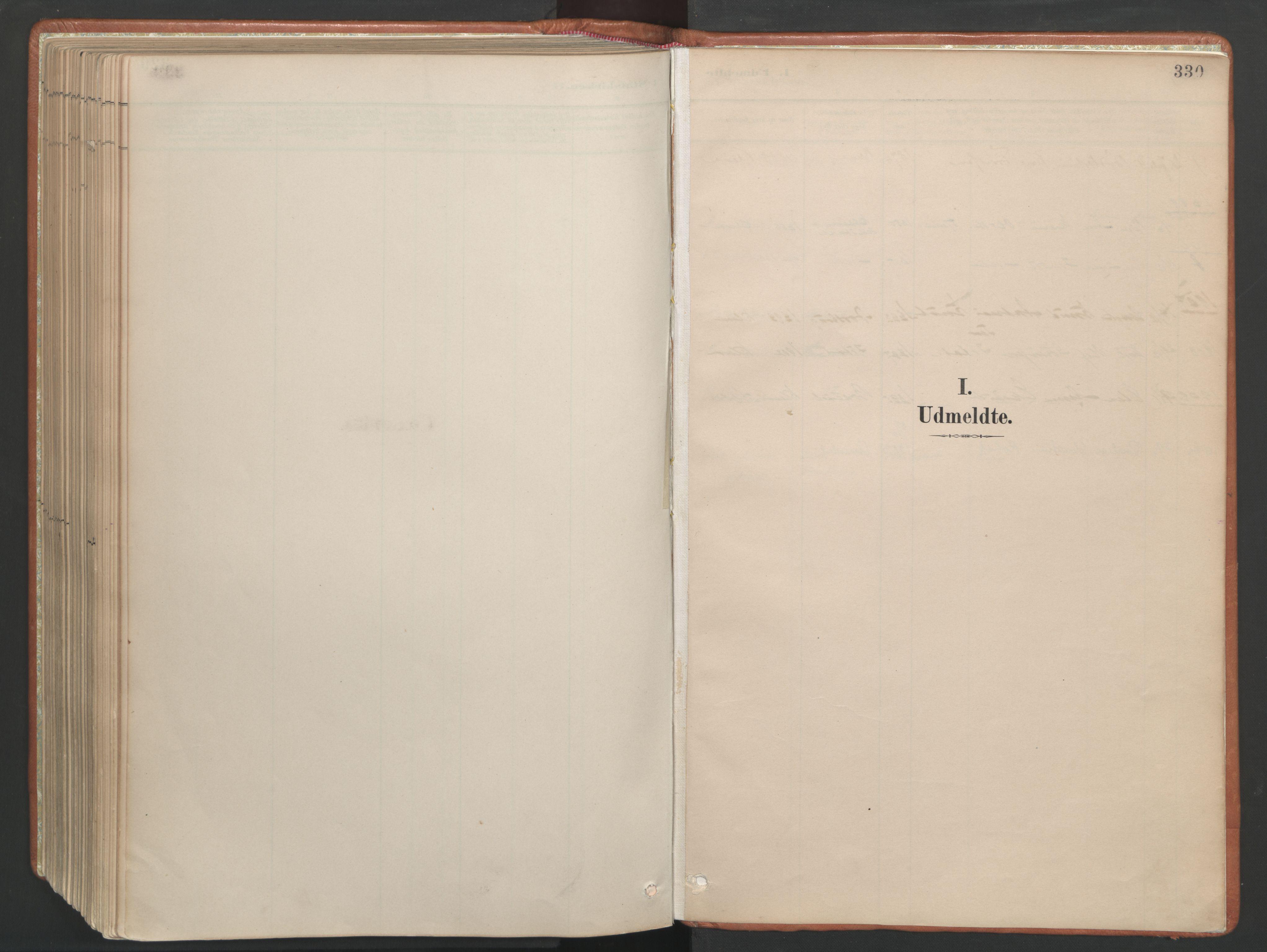 SAT, Ministerialprotokoller, klokkerbøker og fødselsregistre - Møre og Romsdal, 557/L0682: Ministerialbok nr. 557A04, 1887-1970, s. 330