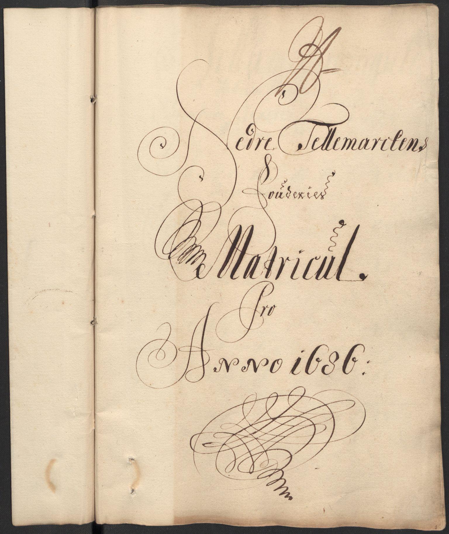RA, Rentekammeret inntil 1814, Reviderte regnskaper, Fogderegnskap, R35/L2083: Fogderegnskap Øvre og Nedre Telemark, 1686, s. 176