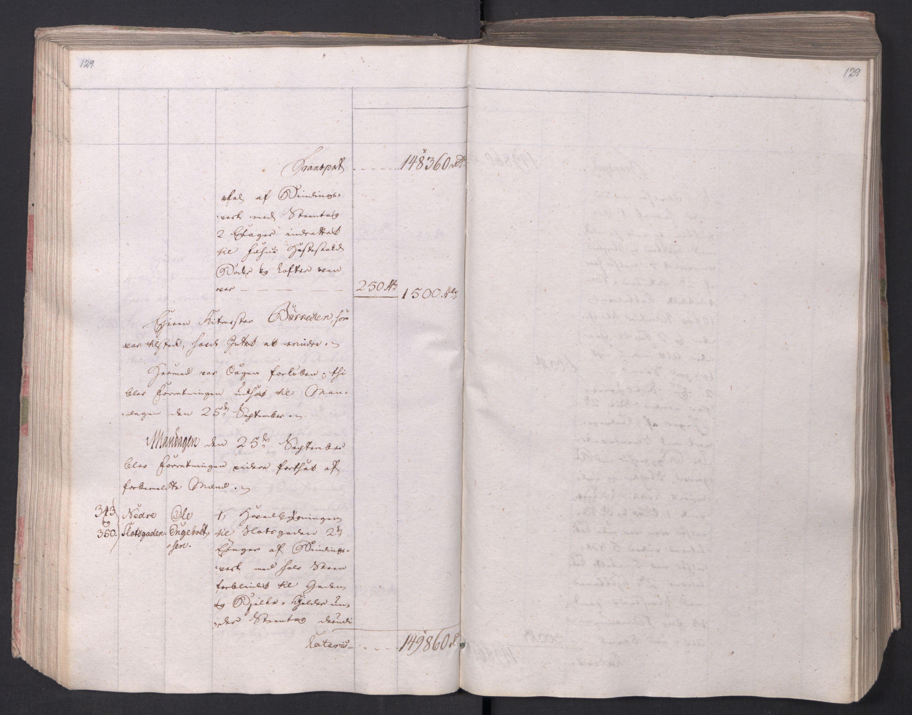 SAO, Kristiania stiftamt, I/Ia/L0015: Branntakster, 1797, s. 129