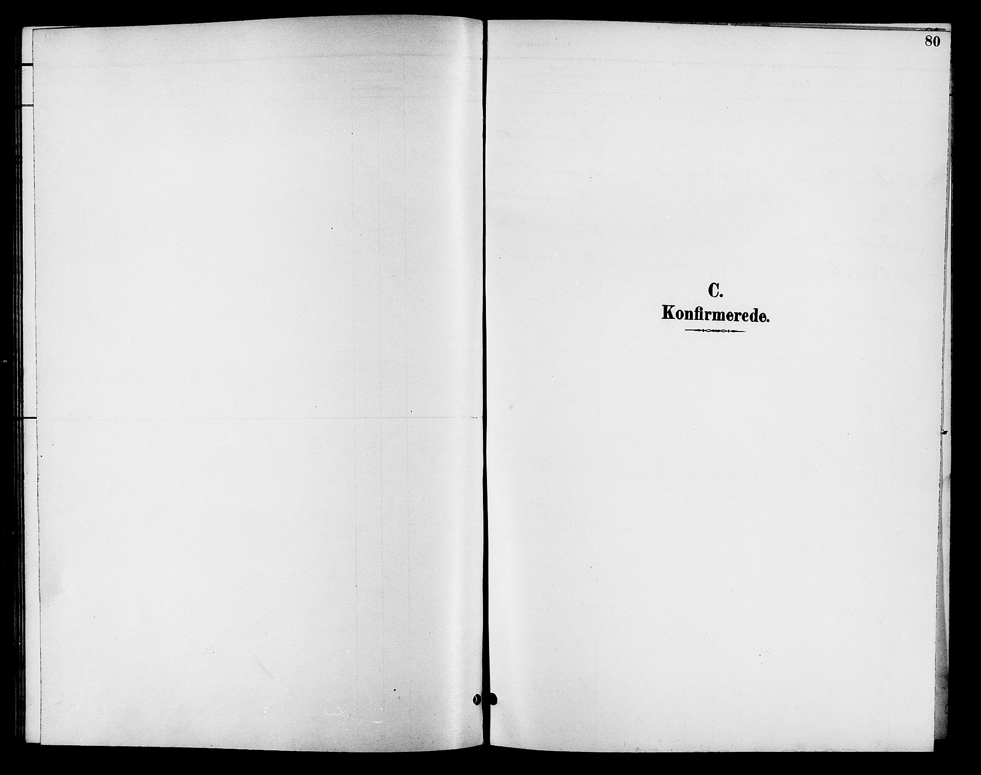 SAH, Fåberg prestekontor, H/Ha/Hab/L0008: Klokkerbok nr. 8, 1891-1900, s. 80