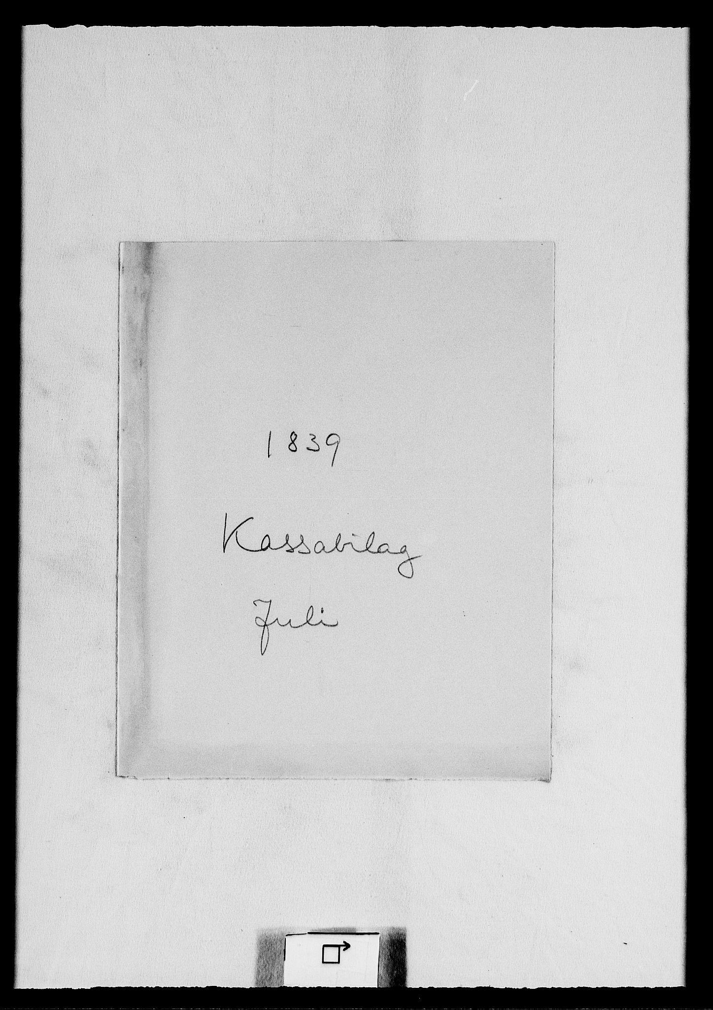 RA, Modums Blaafarveværk, G/Gd/Gdc/L0238, 1839-1840, s. 2
