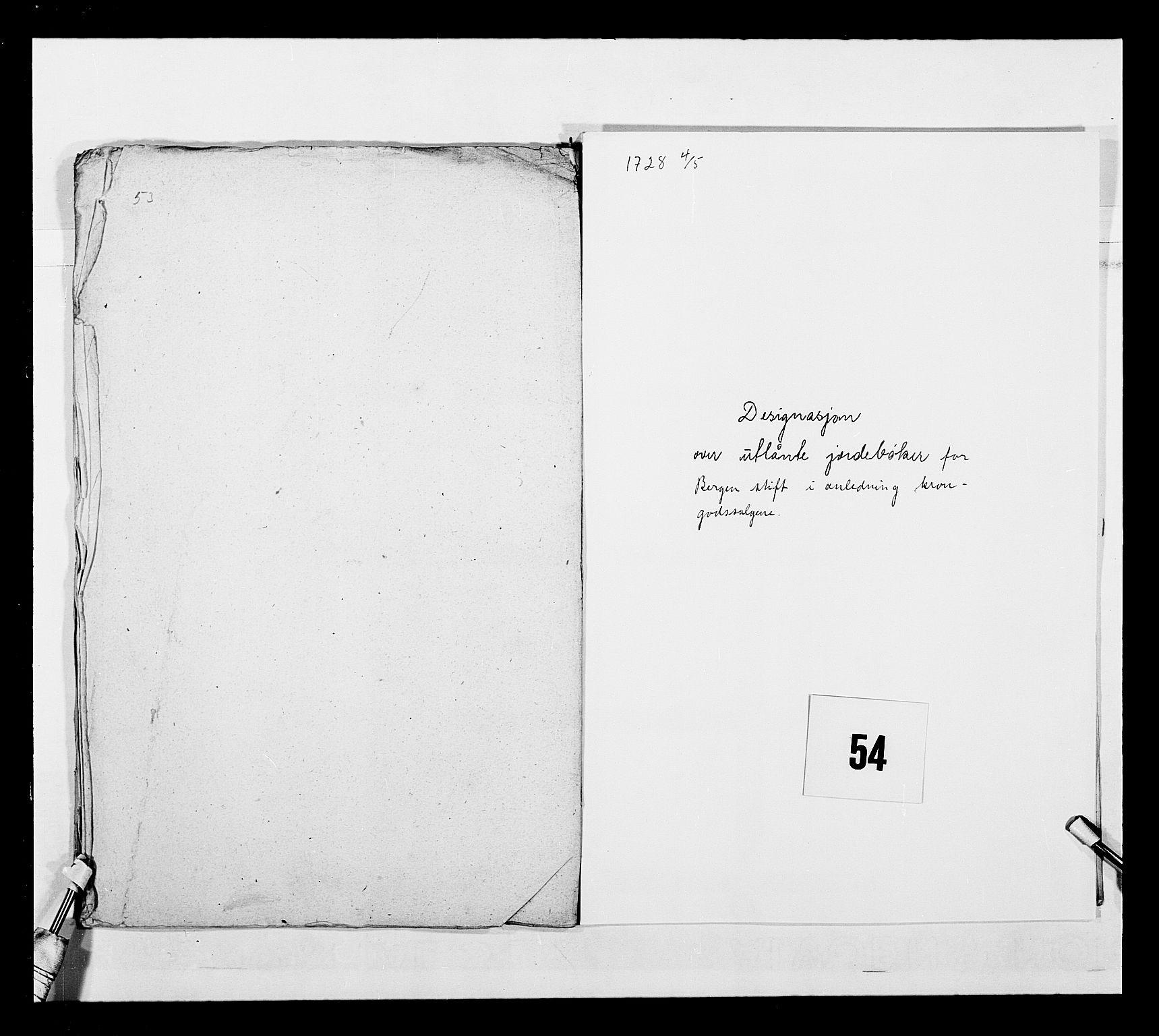 RA, Stattholderembetet 1572-1771, Ek/L0040: Jordebøker o.a. 1720-1728 vedkommende krongodset:, 1726-1728, s. 19