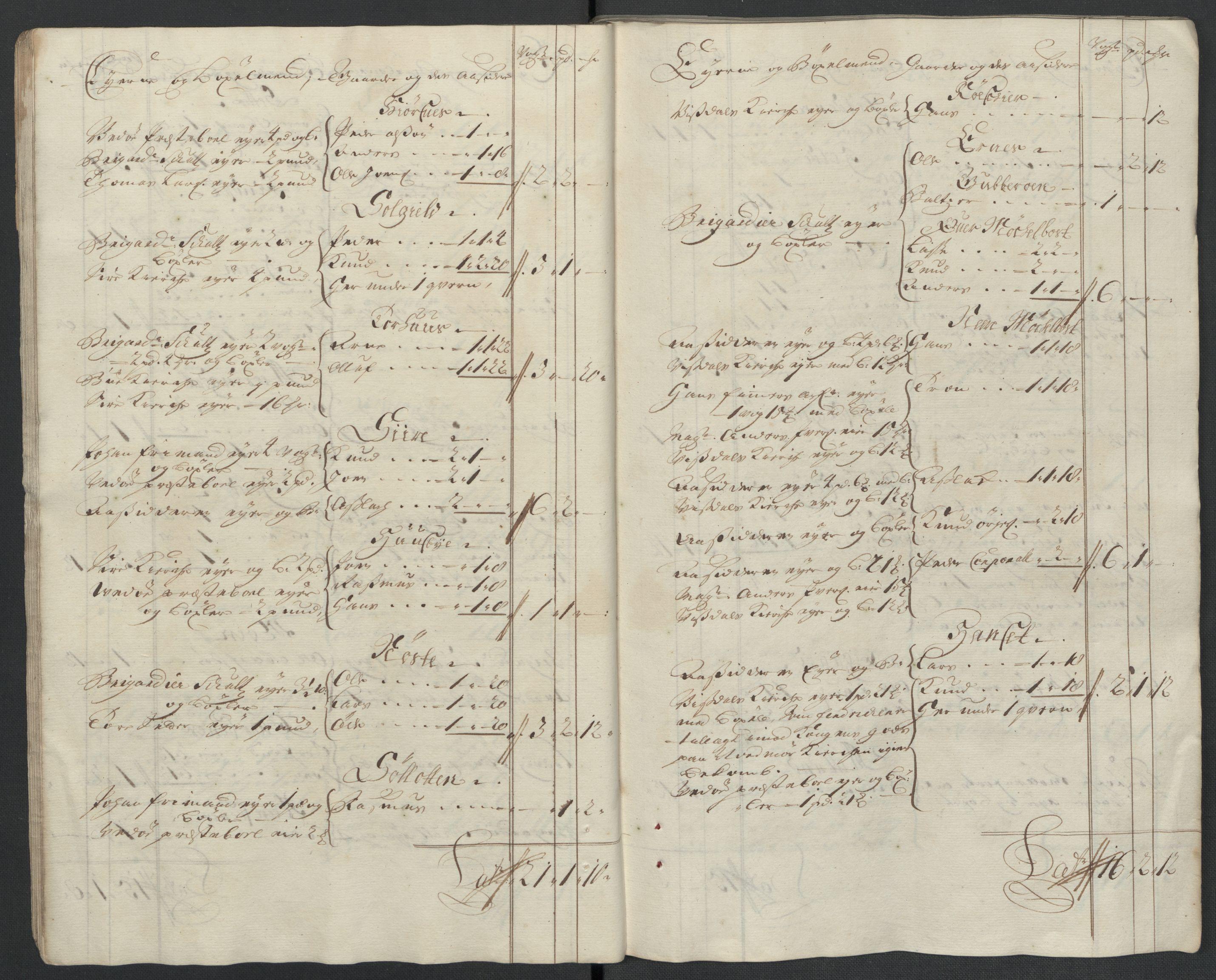 RA, Rentekammeret inntil 1814, Reviderte regnskaper, Fogderegnskap, R55/L3656: Fogderegnskap Romsdal, 1703-1705, s. 378