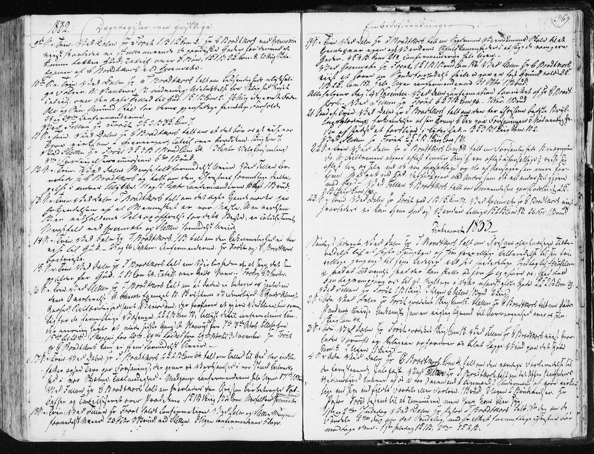 SAT, Ministerialprotokoller, klokkerbøker og fødselsregistre - Sør-Trøndelag, 634/L0528: Ministerialbok nr. 634A04, 1827-1842, s. 369