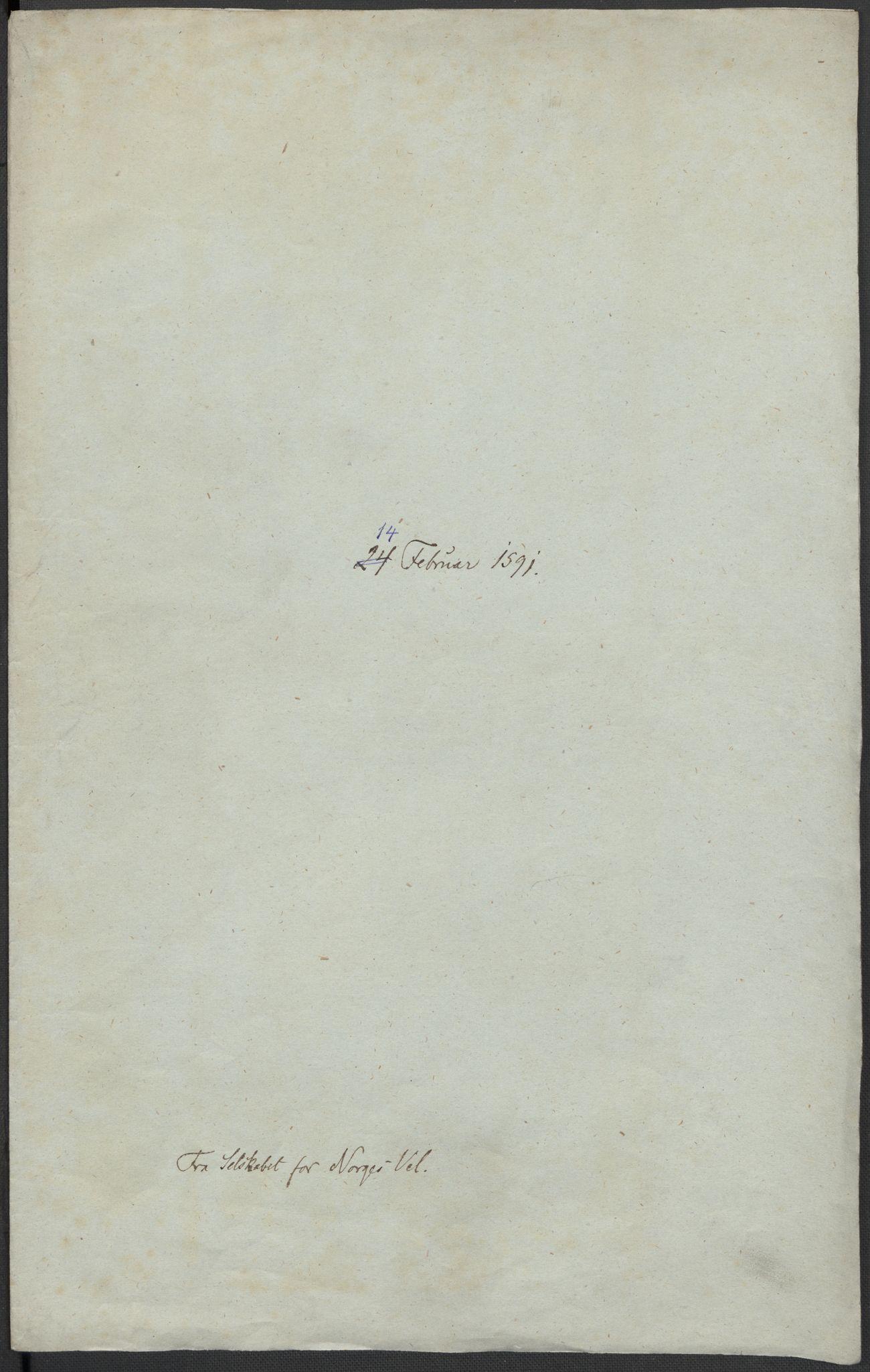 RA, Riksarkivets diplomsamling, F02/L0093: Dokumenter, 1591, s. 25