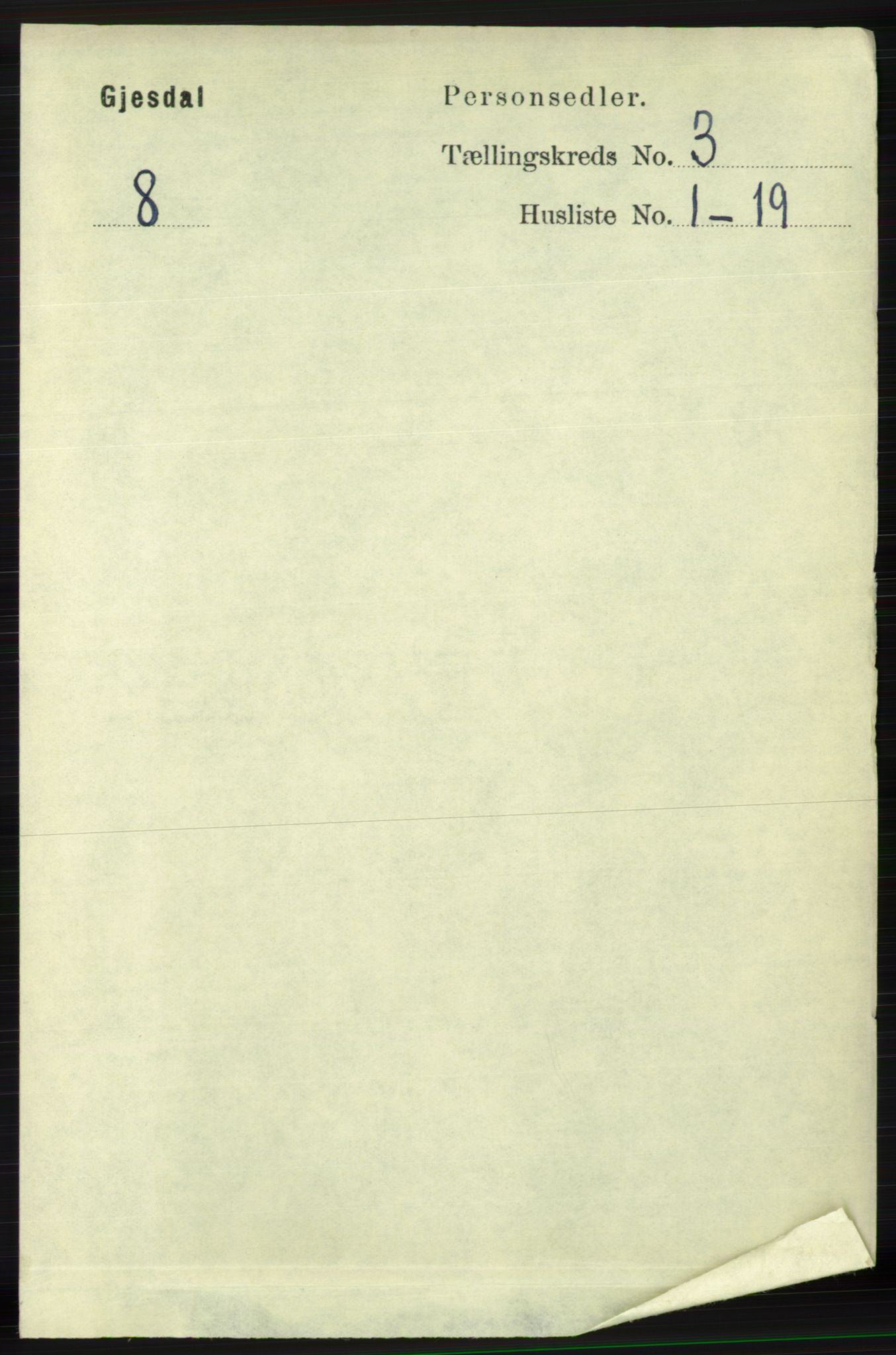 RA, Folketelling 1891 for 1122 Gjesdal herred, 1891, s. 733