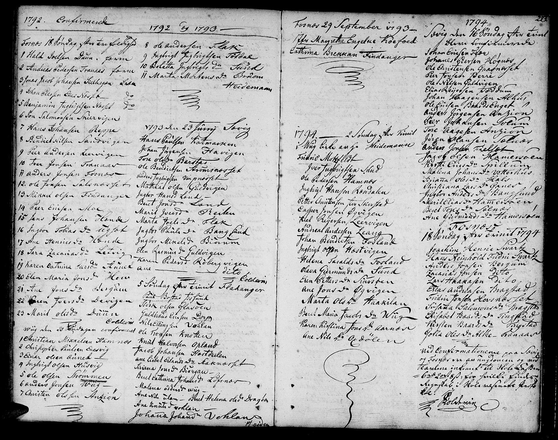 SAT, Ministerialprotokoller, klokkerbøker og fødselsregistre - Nord-Trøndelag, 773/L0608: Ministerialbok nr. 773A02, 1784-1816, s. 273