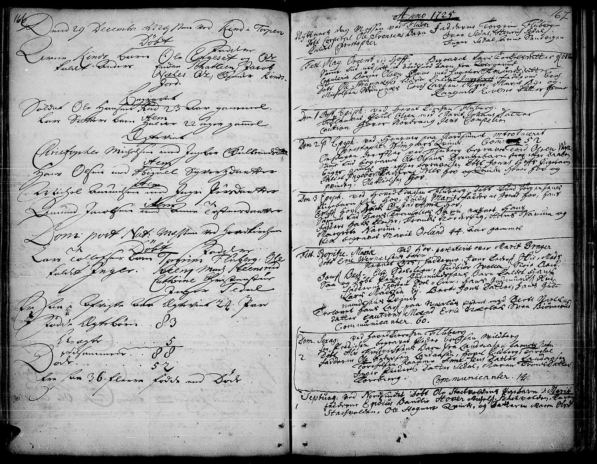 SAH, Land prestekontor, Ministerialbok nr. 1, 1708-1732, s. 166-167