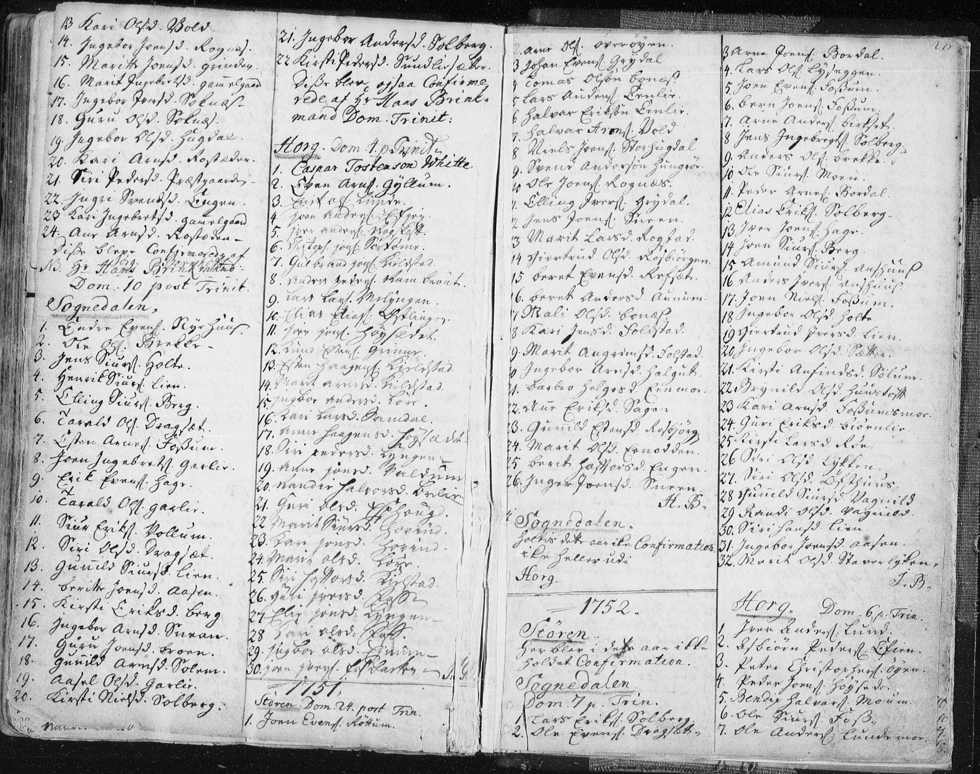 SAT, Ministerialprotokoller, klokkerbøker og fødselsregistre - Sør-Trøndelag, 687/L0991: Ministerialbok nr. 687A02, 1747-1790, s. 275