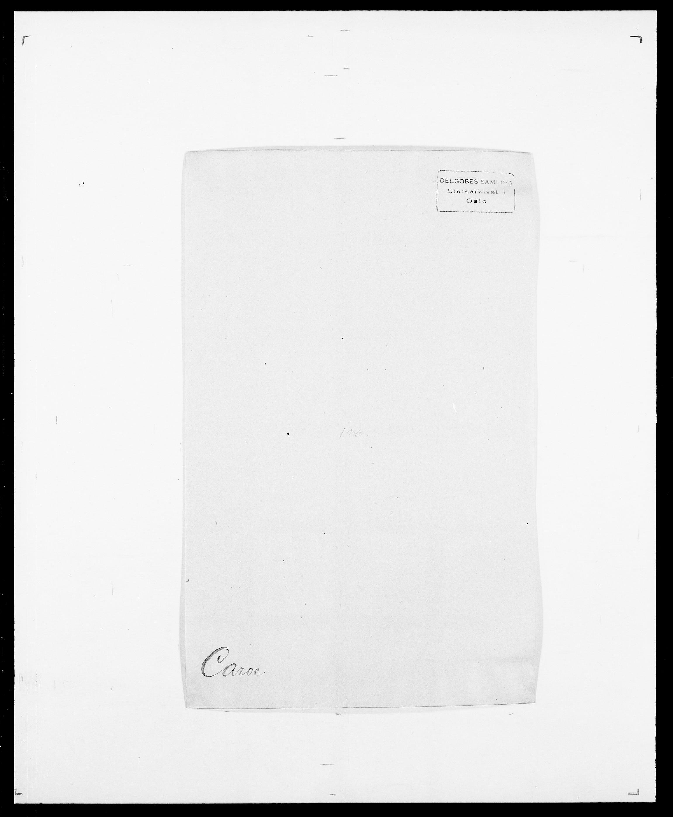 SAO, Delgobe, Charles Antoine - samling, D/Da/L0008: Capjon - Dagenbolt, s. 79