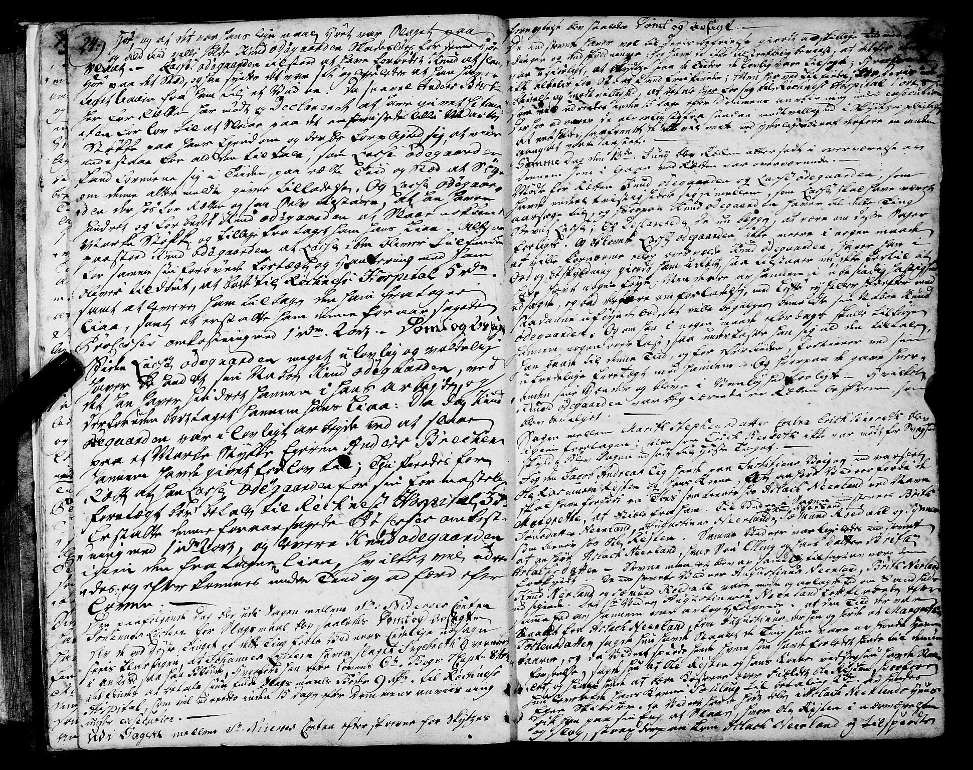 SAT, Romsdal sorenskriveri, 1/1A/L0013: Tingbok, 1749-1757, s. 24-25