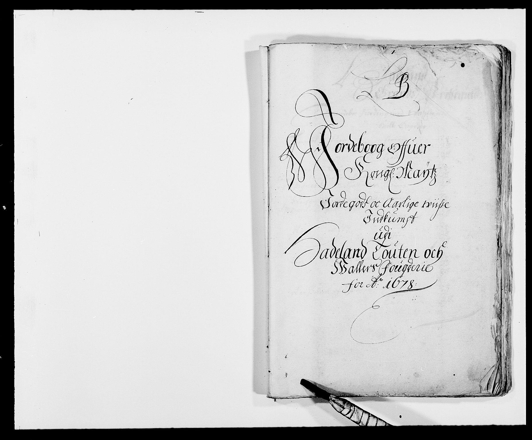 RA, Rentekammeret inntil 1814, Reviderte regnskaper, Fogderegnskap, R18/L1270: Fogderegnskap Hadeland, Toten og Valdres, 1678, s. 17