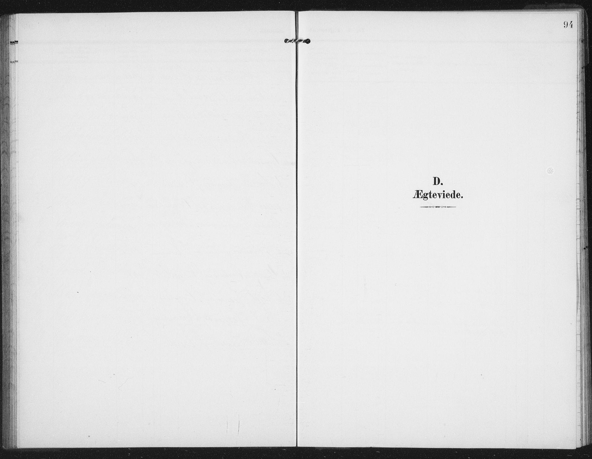 SAT, Ministerialprotokoller, klokkerbøker og fødselsregistre - Nord-Trøndelag, 747/L0460: Klokkerbok nr. 747C02, 1908-1939, s. 94