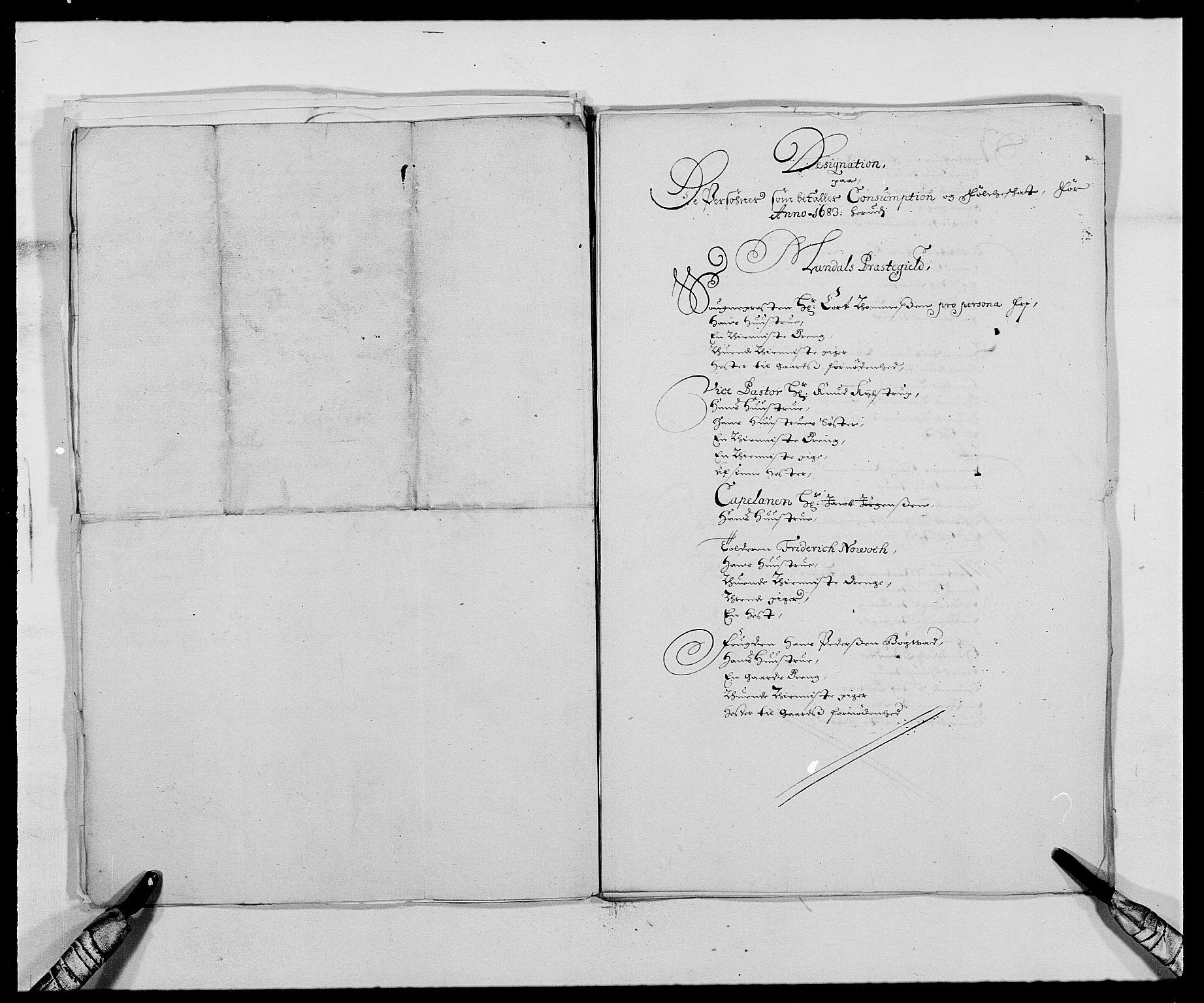 RA, Rentekammeret inntil 1814, Reviderte regnskaper, Fogderegnskap, R42/L2541: Mandal fogderi, 1681-1684, s. 199