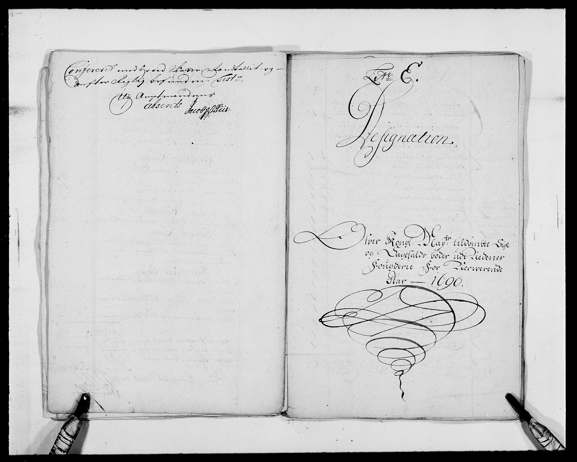 RA, Rentekammeret inntil 1814, Reviderte regnskaper, Fogderegnskap, R39/L2310: Fogderegnskap Nedenes, 1690-1692, s. 118