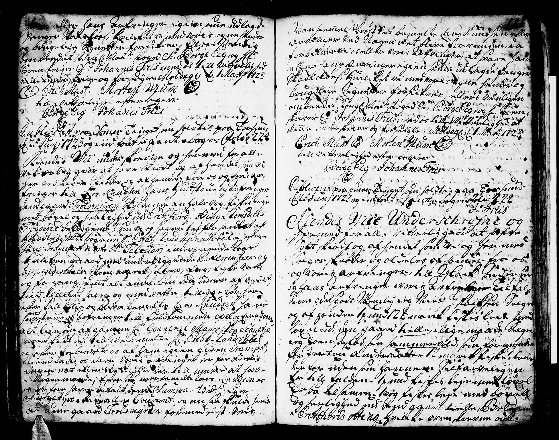 SAT, Romsdal sorenskriveri, 2/2C/L0001: Pantebok nr. 1, 1706-1724, s. 224