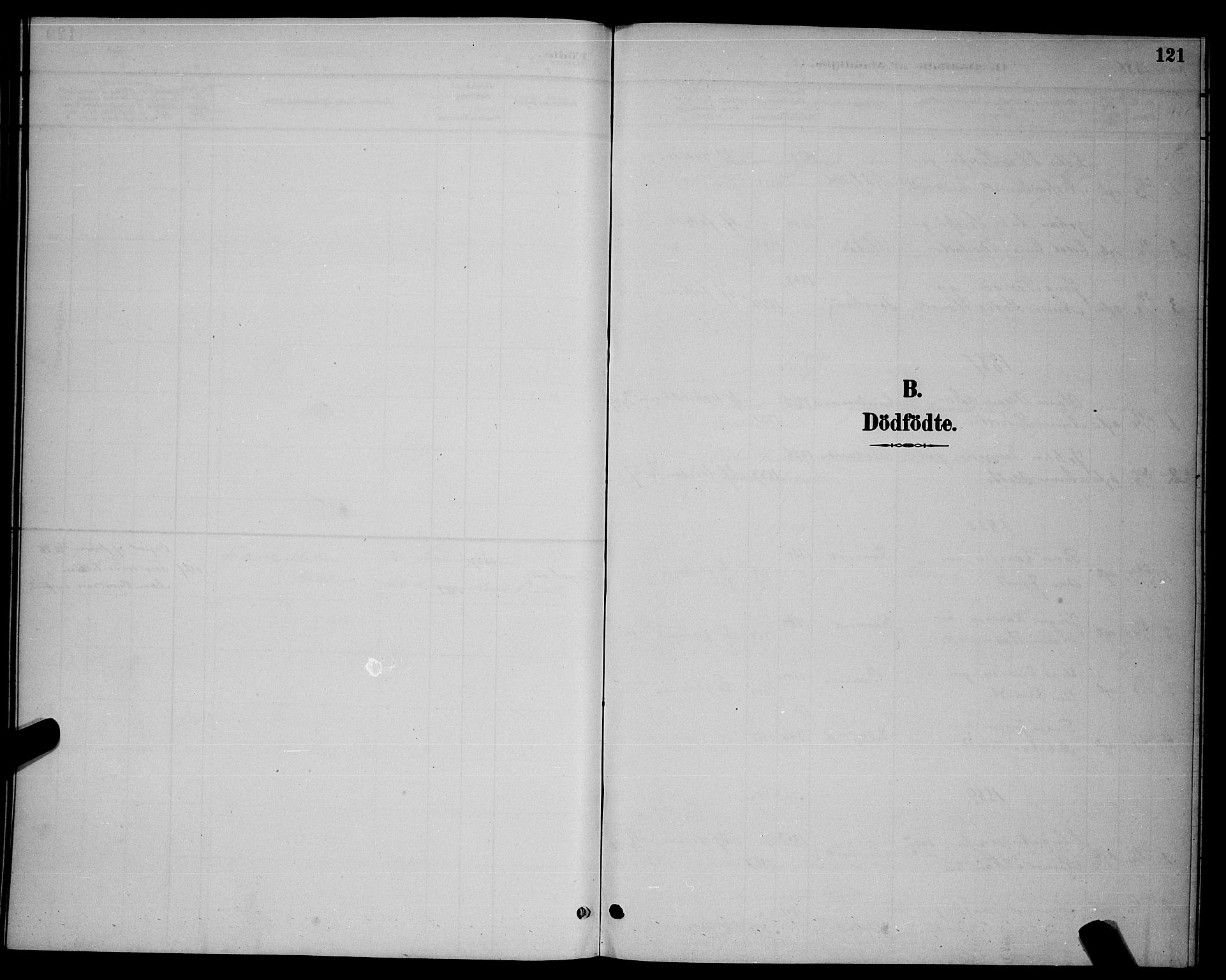 SAT, Ministerialprotokoller, klokkerbøker og fødselsregistre - Nordland, 863/L0914: Klokkerbok nr. 863C04, 1886-1897, s. 121