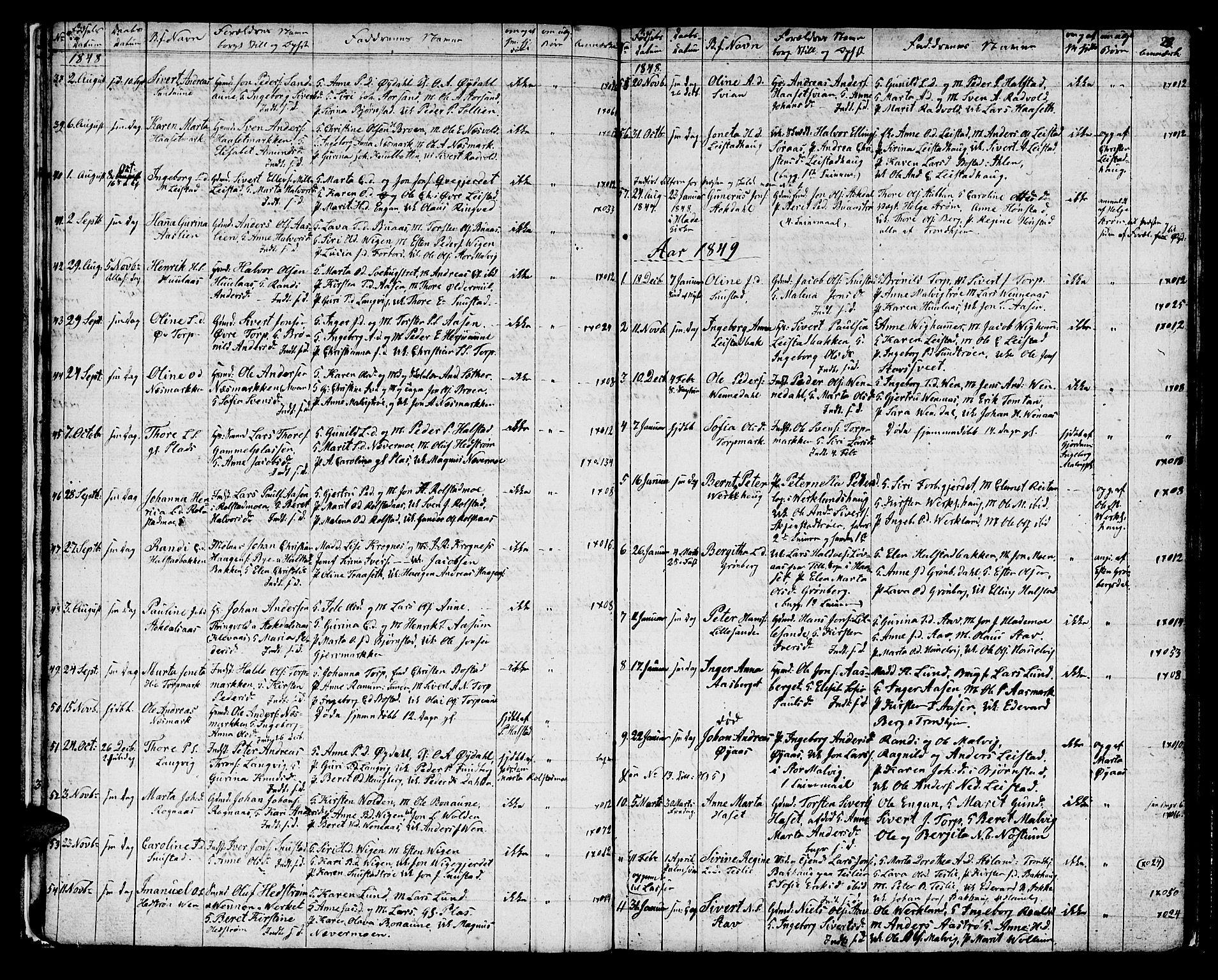 SAT, Ministerialprotokoller, klokkerbøker og fødselsregistre - Sør-Trøndelag, 616/L0421: Klokkerbok nr. 616C04, 1834-1850, s. 28a