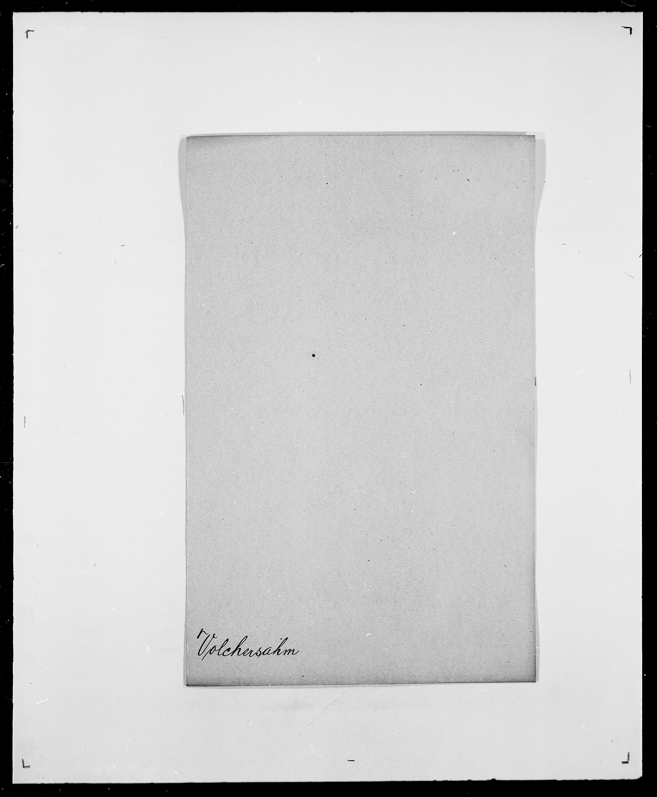 SAO, Delgobe, Charles Antoine - samling, D/Da/L0042: Vilain - Wulf, Wulff, se også Wolf, s. 593