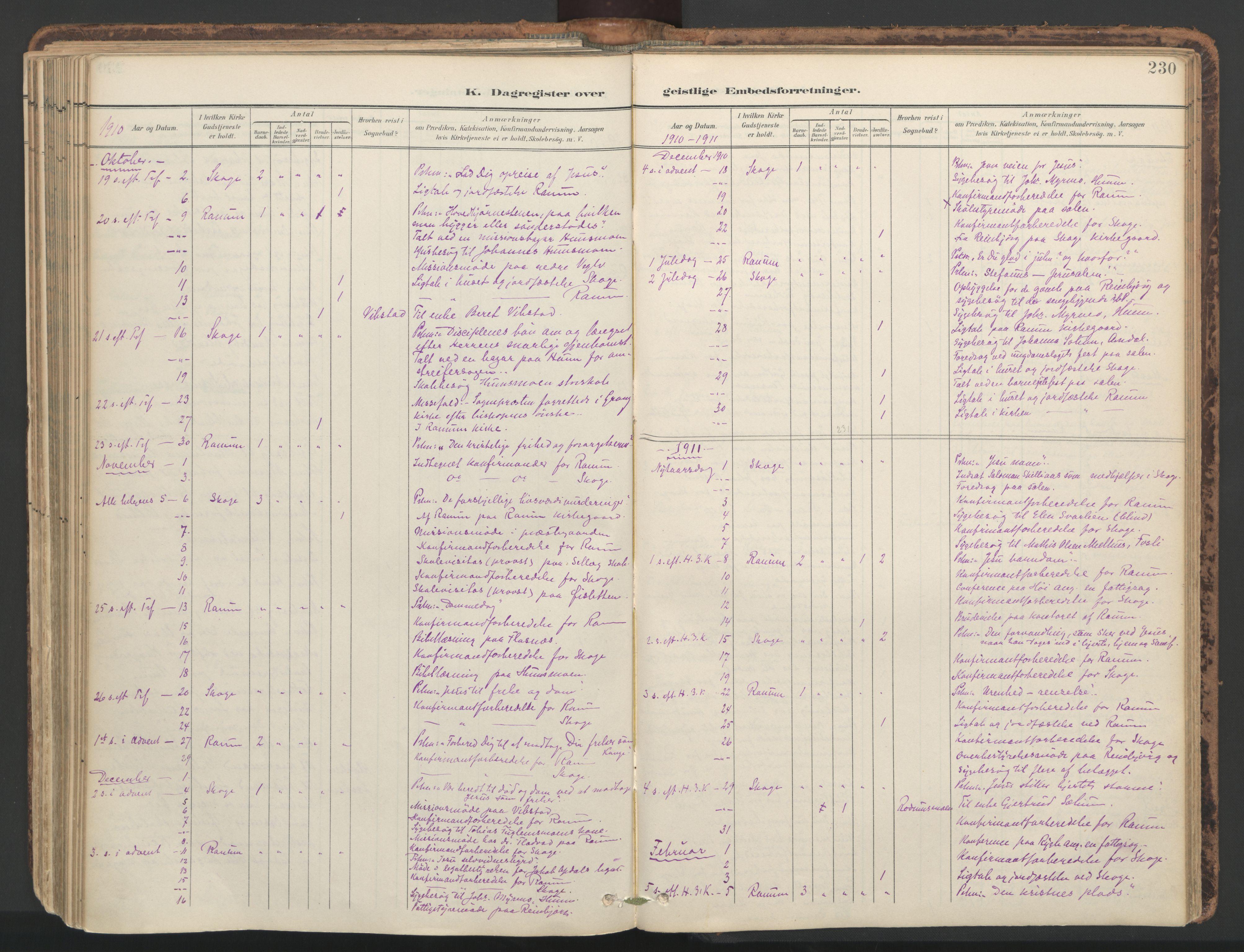 SAT, Ministerialprotokoller, klokkerbøker og fødselsregistre - Nord-Trøndelag, 764/L0556: Ministerialbok nr. 764A11, 1897-1924, s. 230