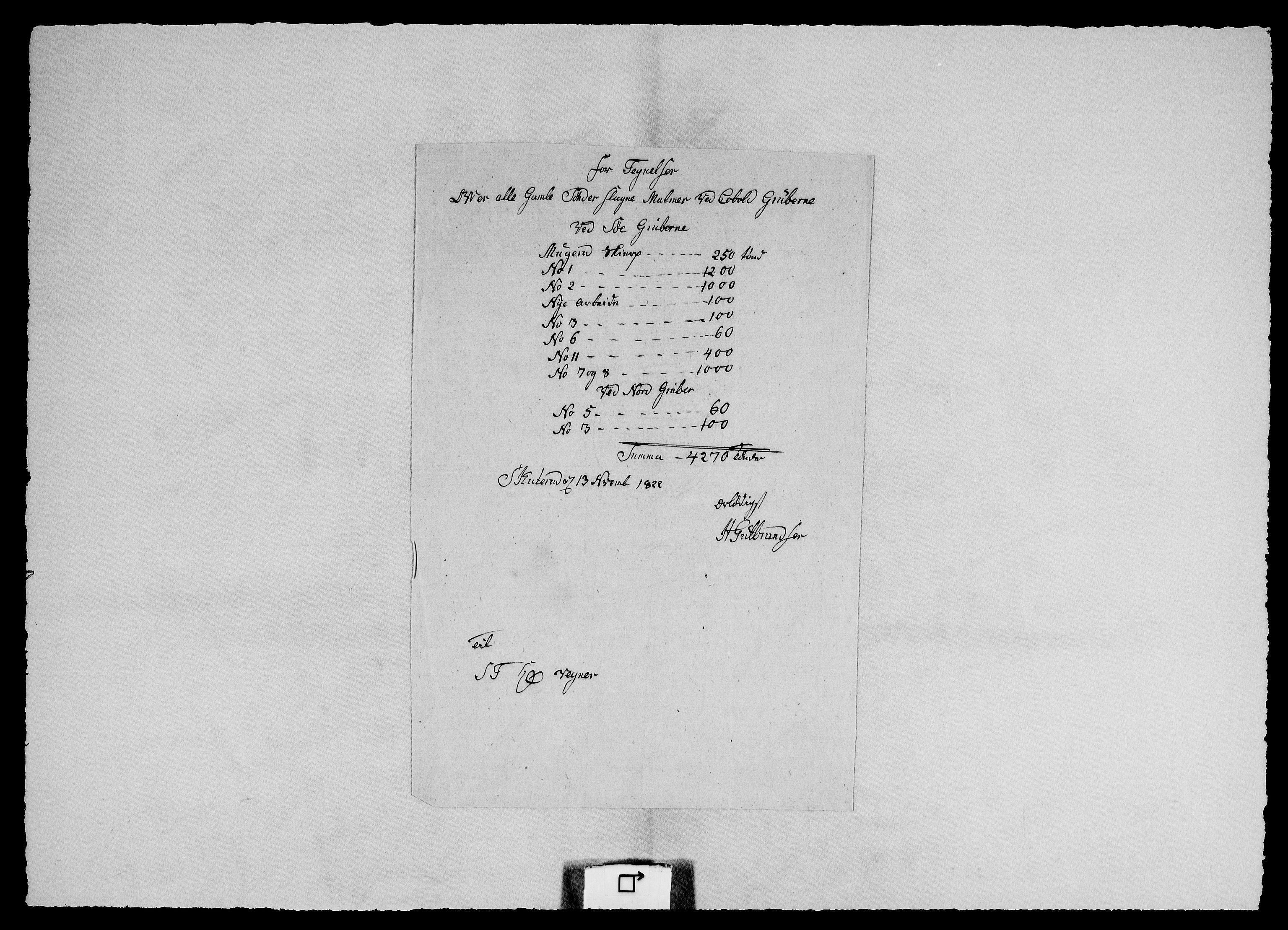 RA, Modums Blaafarveværk, G/Ge/L0326, 1822-1825, s. 2