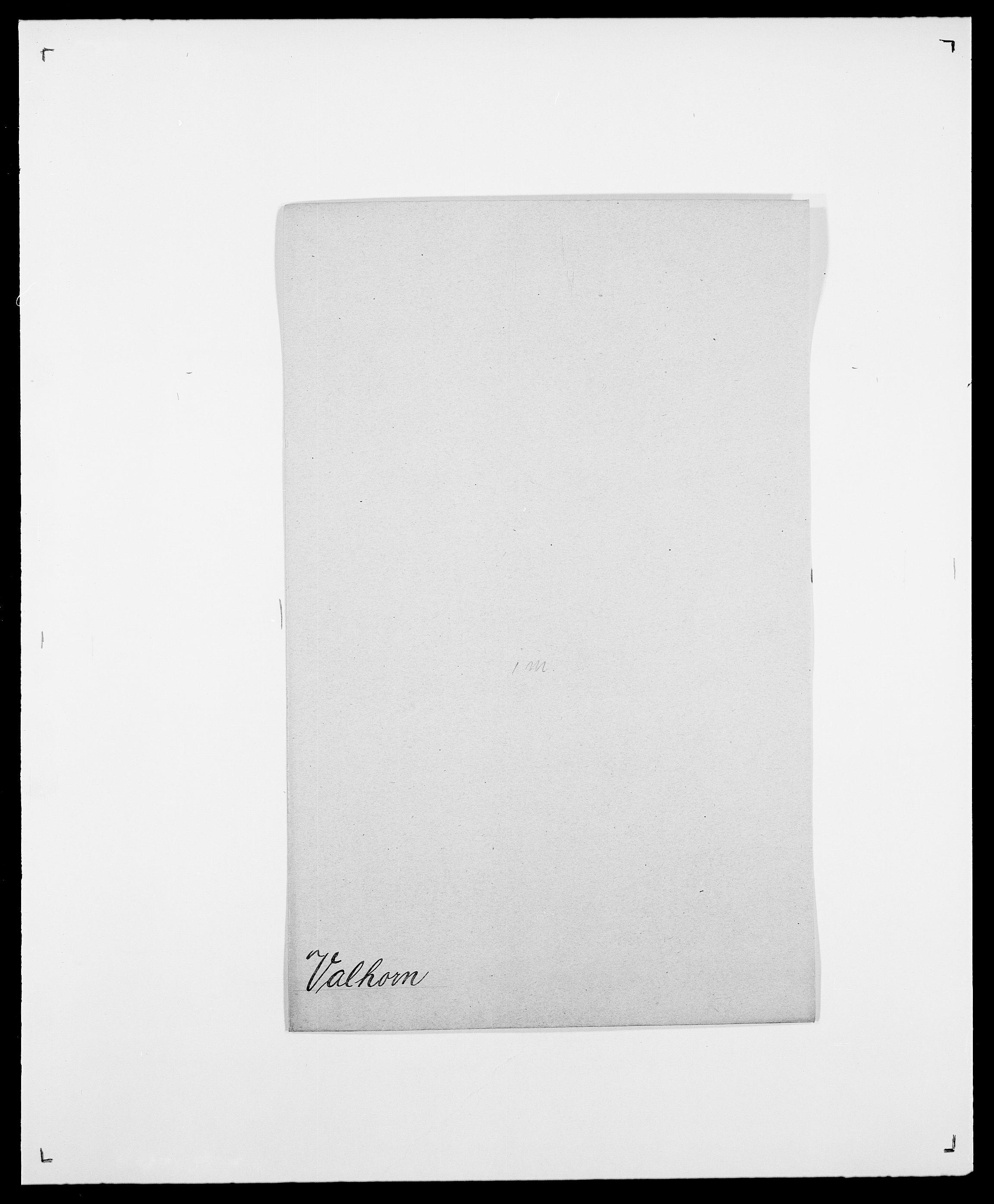 SAO, Delgobe, Charles Antoine - samling, D/Da/L0040: Usgaard - Velund, s. 160