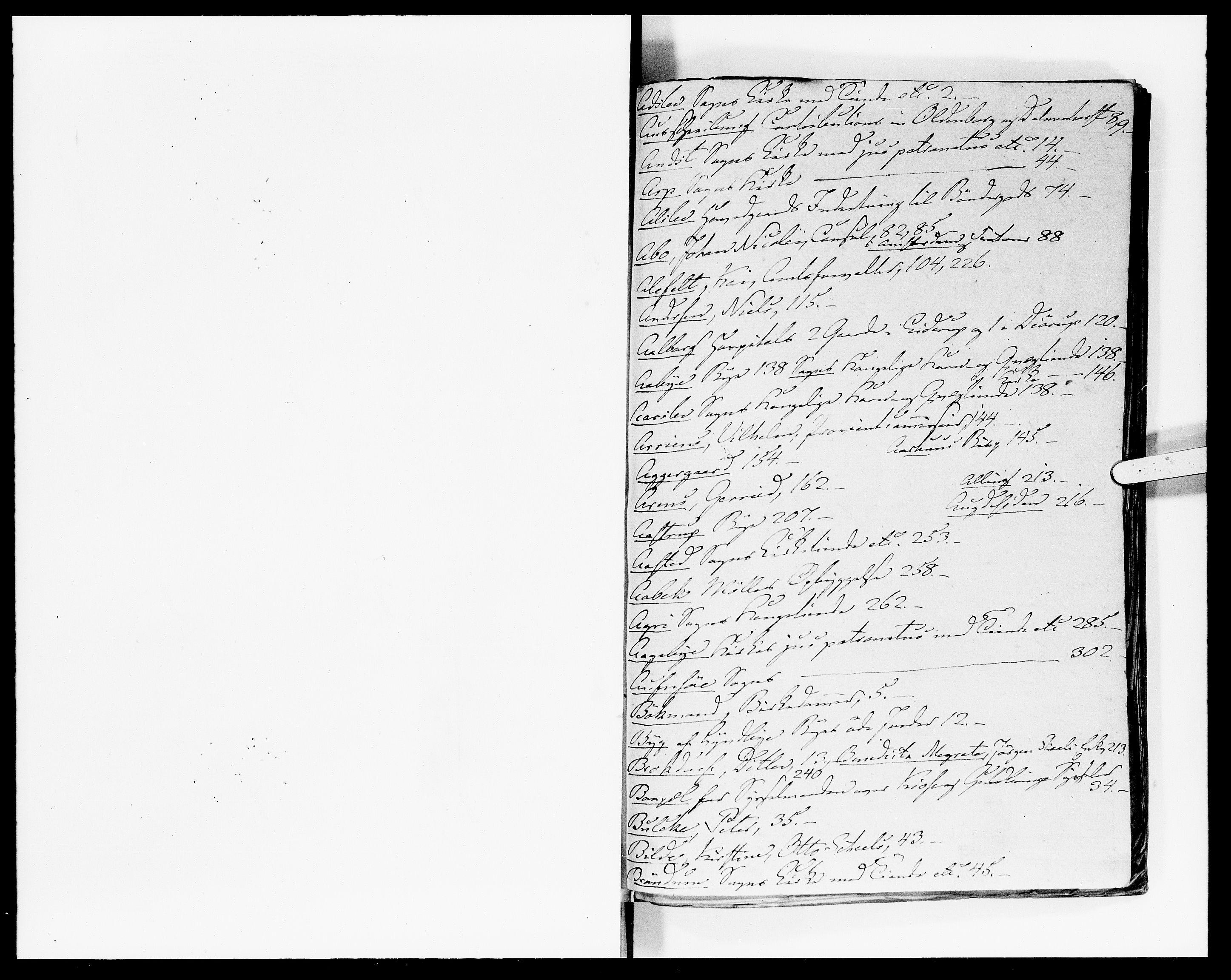 DRA, Rentekammeret Skatkammeret, Danske Sekretariat (1660-1679) / Rentekammeret Danske Afdeling, Kammerkancelliet (1679-1771), -/2212-13: Ekspeditionsprotokol, 1699