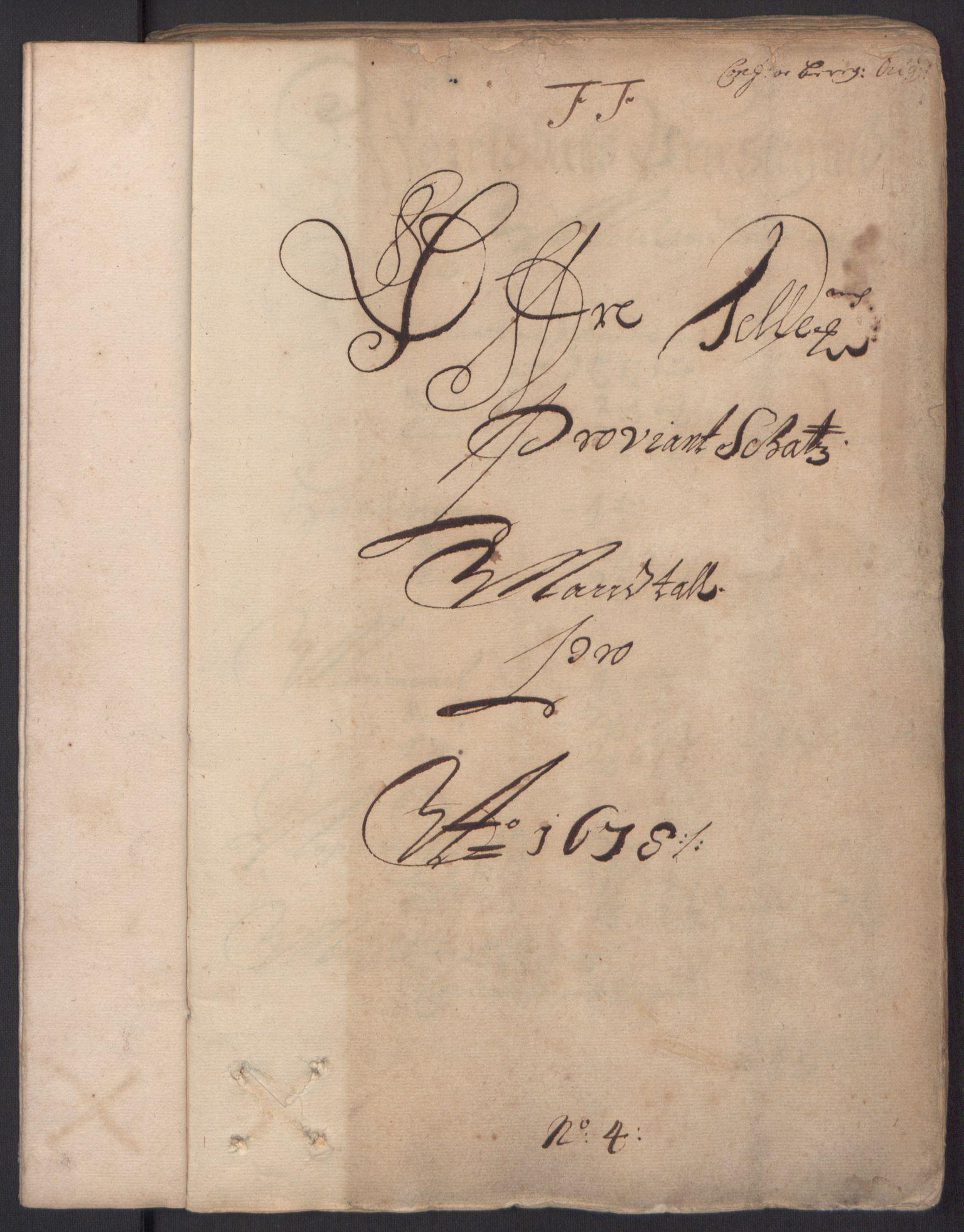 RA, Rentekammeret inntil 1814, Reviderte regnskaper, Fogderegnskap, R35/L2071: Fogderegnskap Øvre og Nedre Telemark, 1678, s. 3