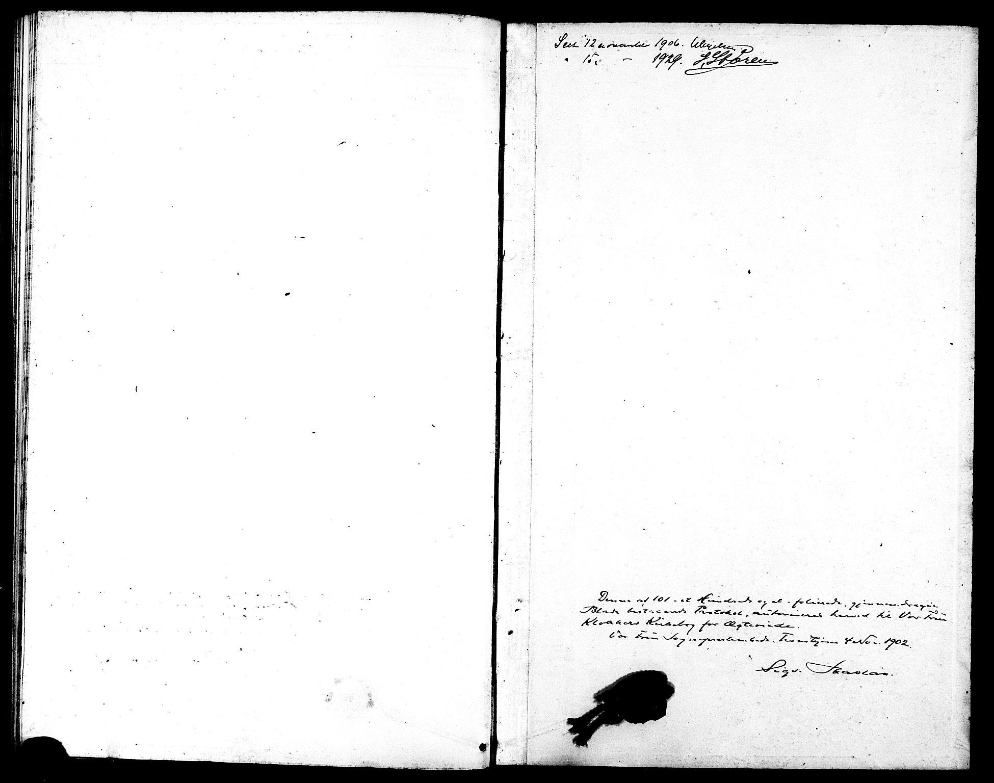 SAT, Ministerialprotokoller, klokkerbøker og fødselsregistre - Sør-Trøndelag, 602/L0145: Klokkerbok nr. 602C13, 1902-1919