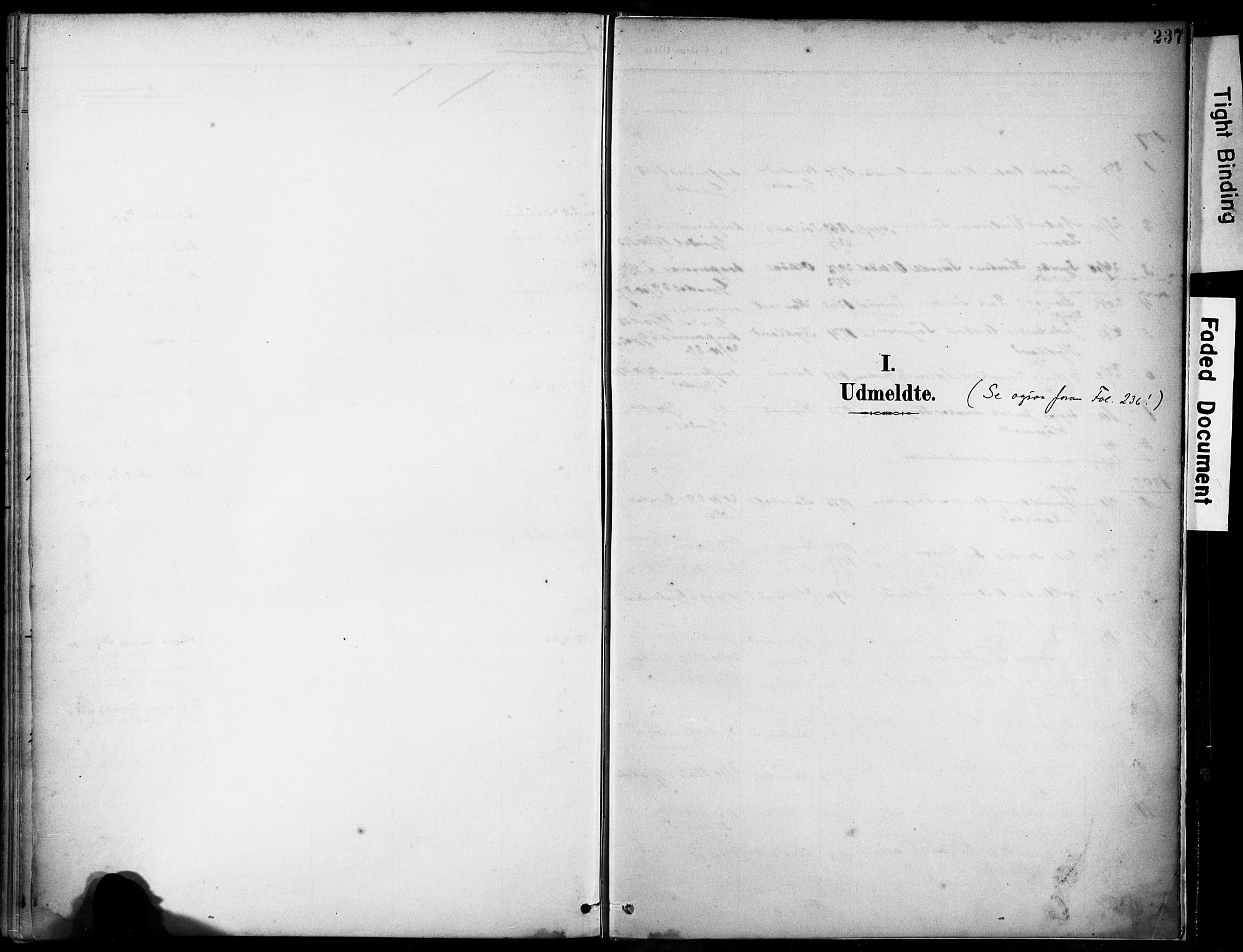 SAST, Lye sokneprestkontor, 30BA/L0012: Ministerialbok nr. A 11, 1896-1909, s. 237