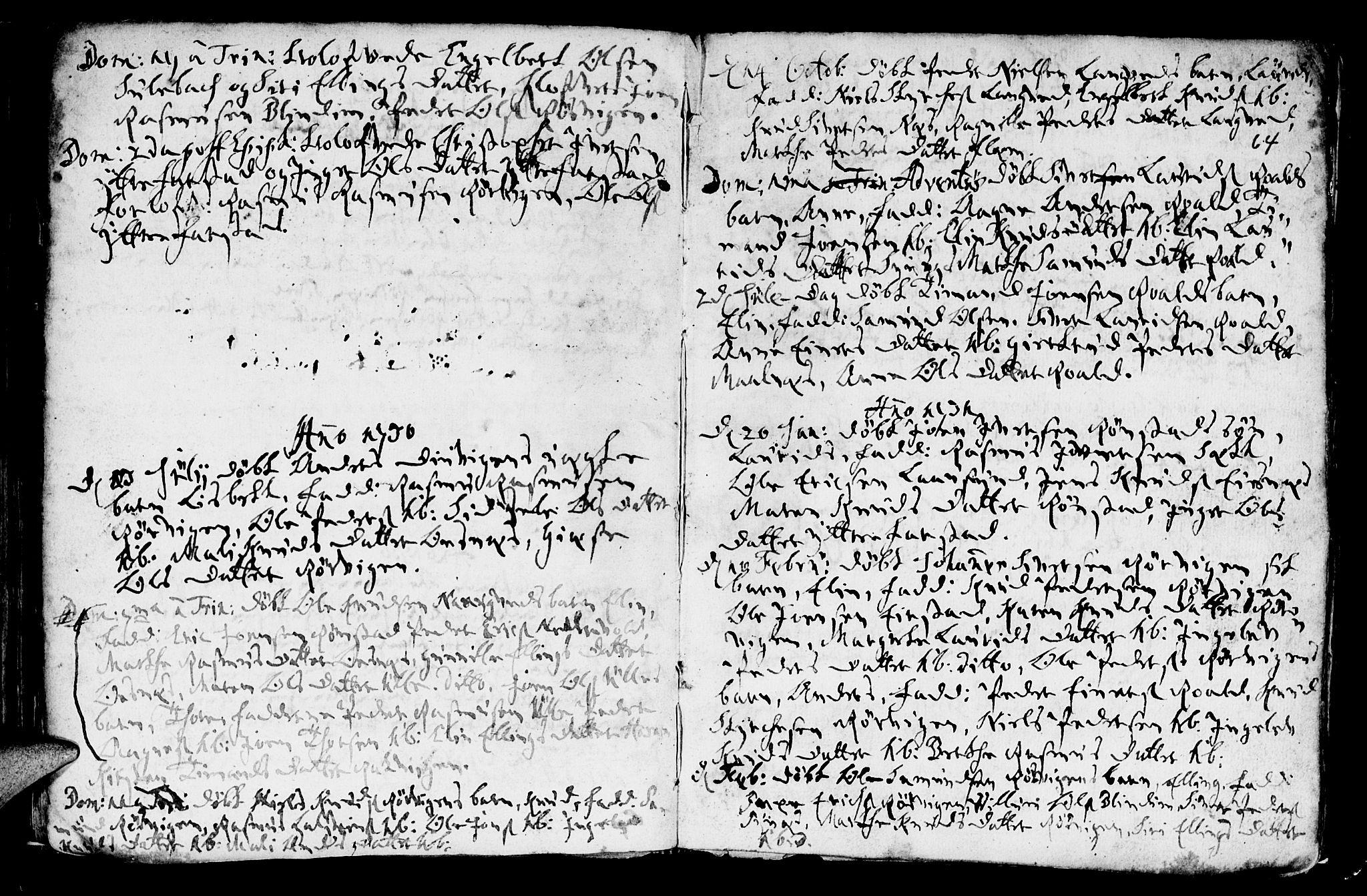 SAT, Ministerialprotokoller, klokkerbøker og fødselsregistre - Møre og Romsdal, 536/L0491: Ministerialbok nr. 536A01 /1, 1689-1737, s. 64