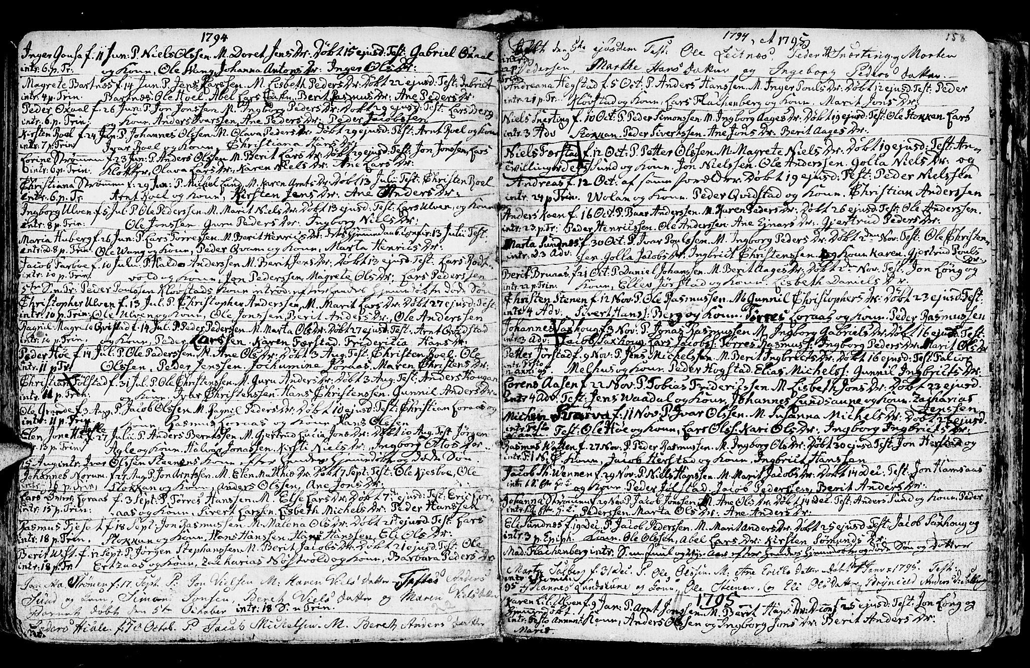 SAT, Ministerialprotokoller, klokkerbøker og fødselsregistre - Nord-Trøndelag, 730/L0273: Ministerialbok nr. 730A02, 1762-1802, s. 158