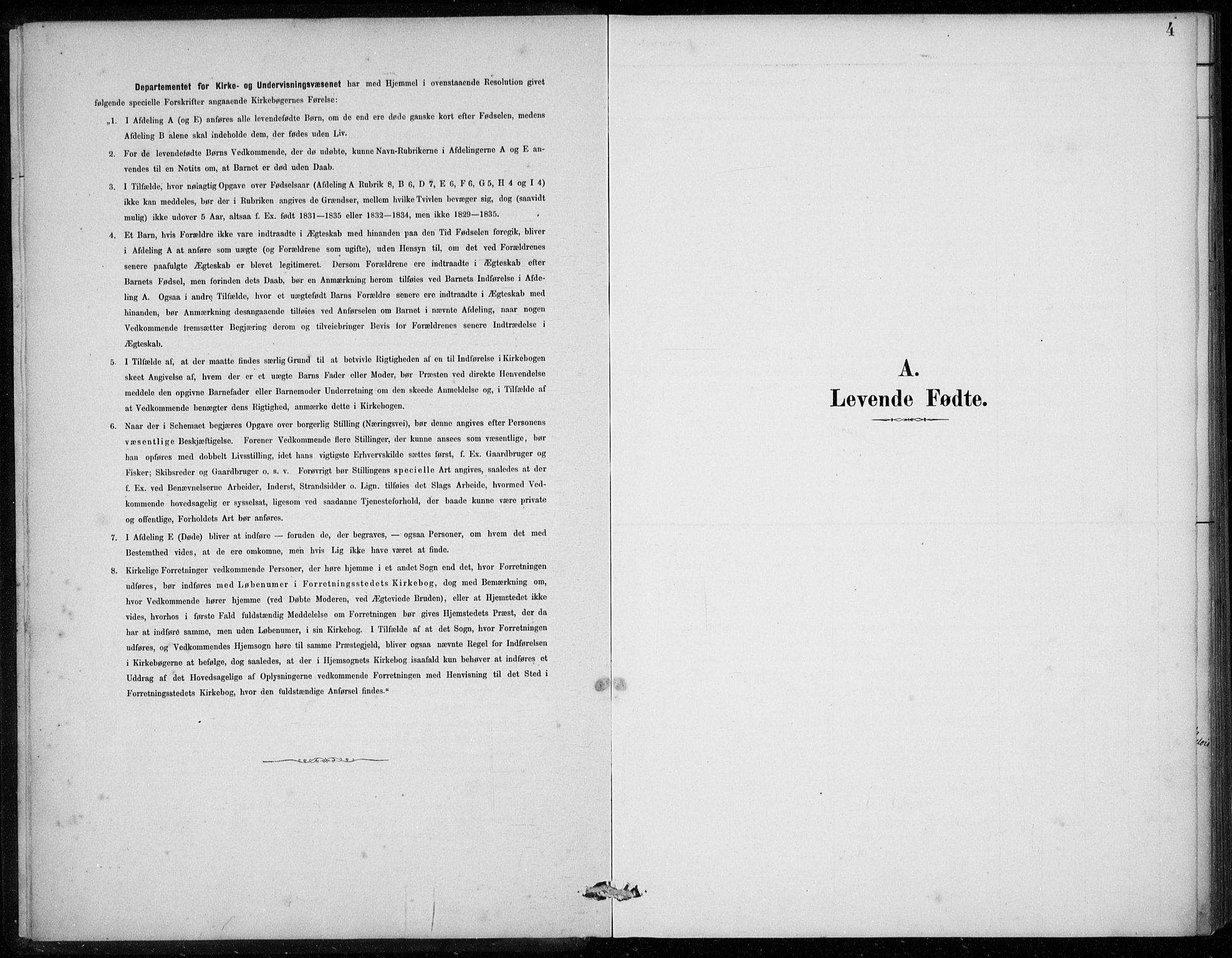 SAB, Den Norske Sjømannsmisjon i utlandet*, Ministerialbok nr. A 2, 1887-1913, s. 4