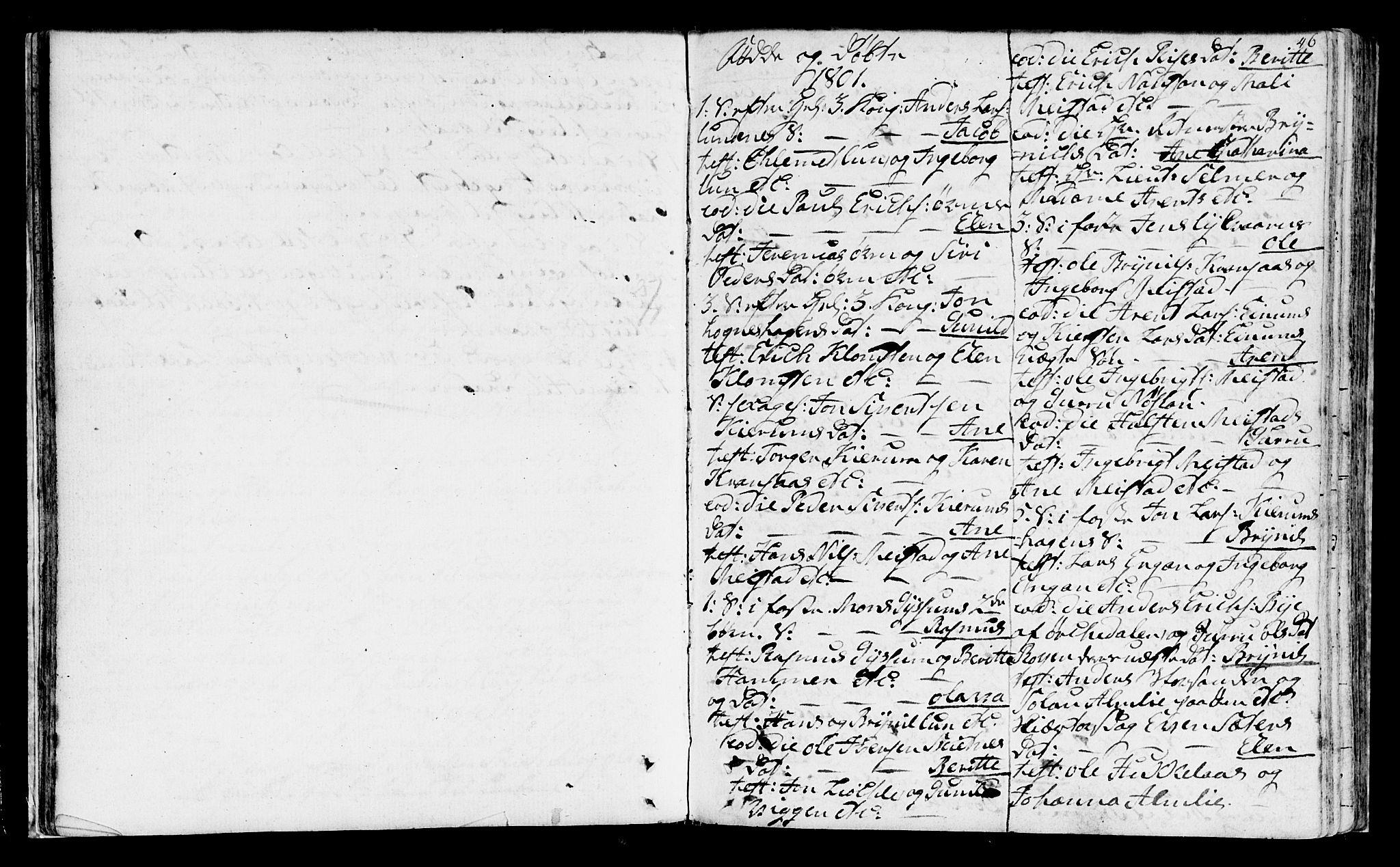 SAT, Ministerialprotokoller, klokkerbøker og fødselsregistre - Sør-Trøndelag, 665/L0768: Ministerialbok nr. 665A03, 1754-1803, s. 46