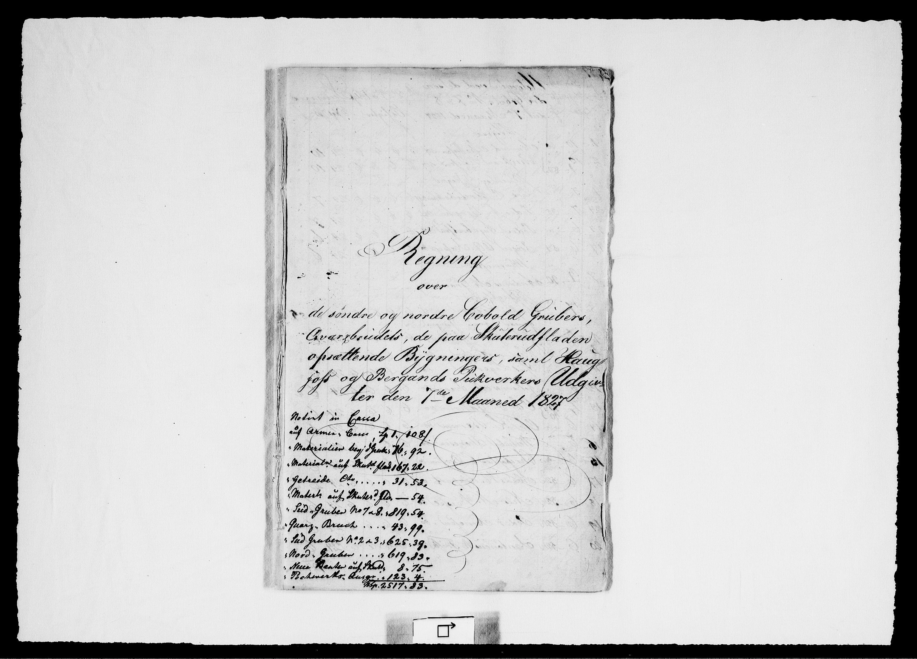 RA, Modums Blaafarveværk, G/Gd/Gdd/L0256, 1827-1828, s. 2