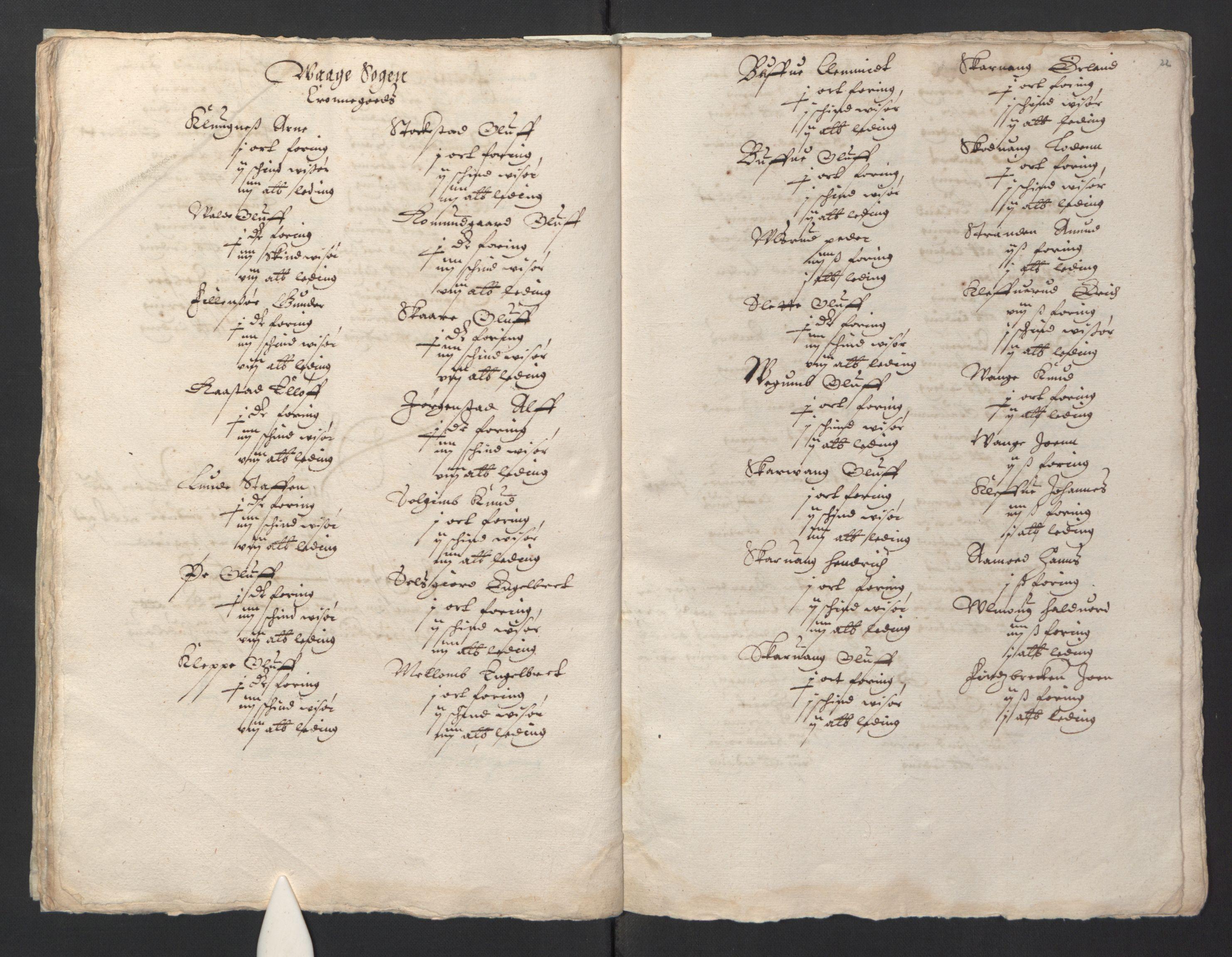 RA, Stattholderembetet 1572-1771, Ek/L0001: Jordebøker før 1624 og til utligning av garnisonsskatt 1624-1626:, 1624-1625, s. 24