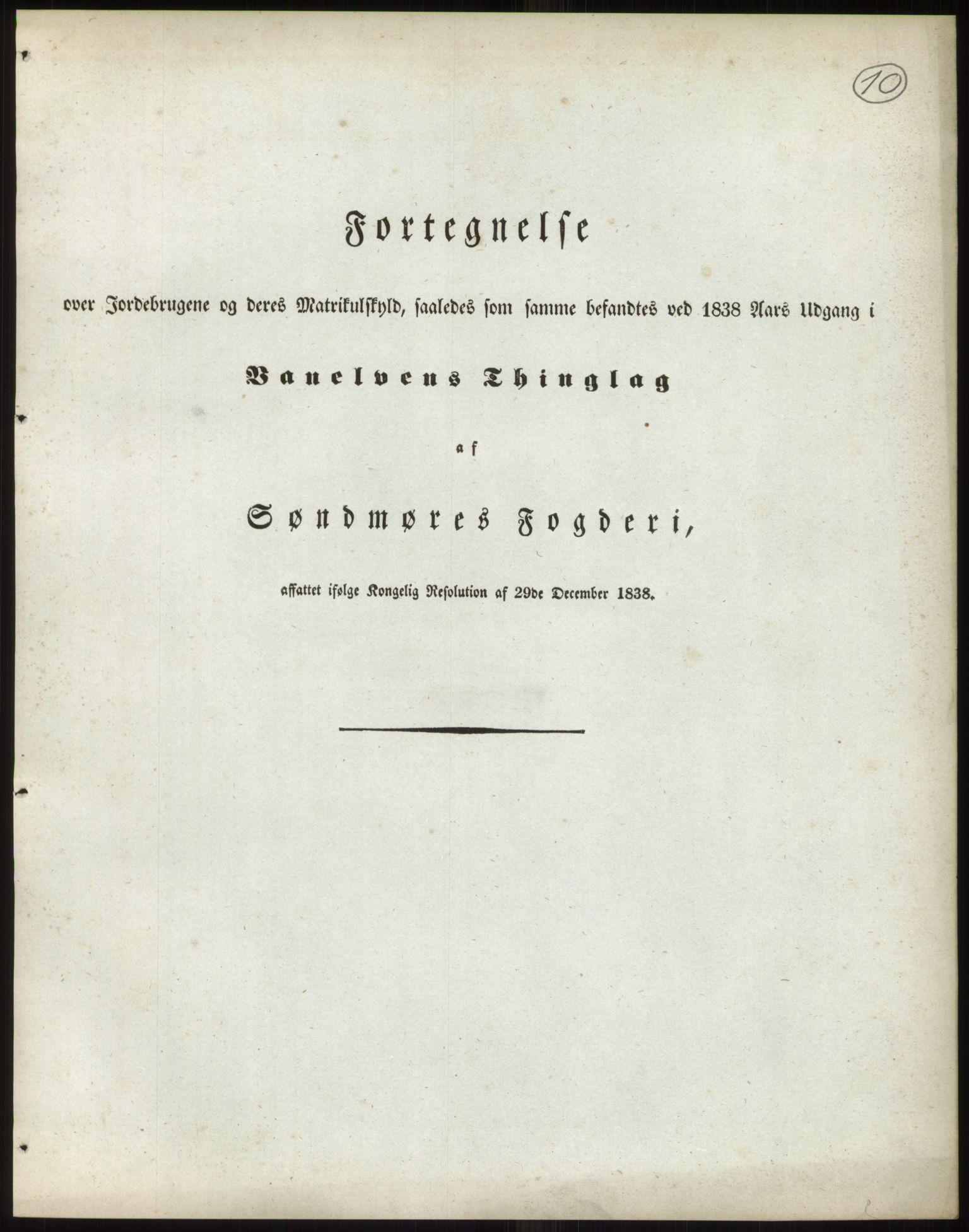 RA, 1838-matrikkelen (publikasjon)*, 1838, s. 10