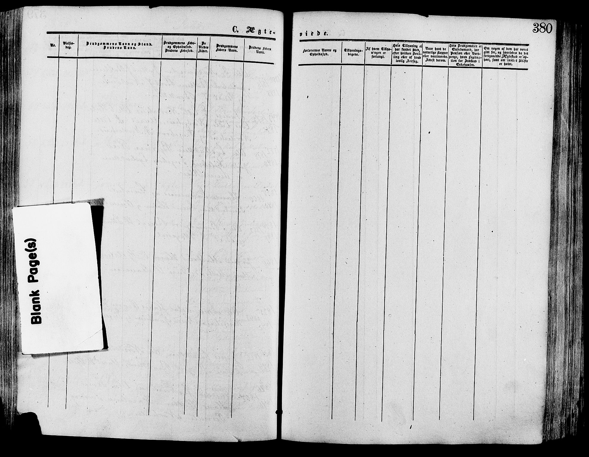 SAH, Lesja prestekontor, Ministerialbok nr. 8, 1854-1880, s. 380