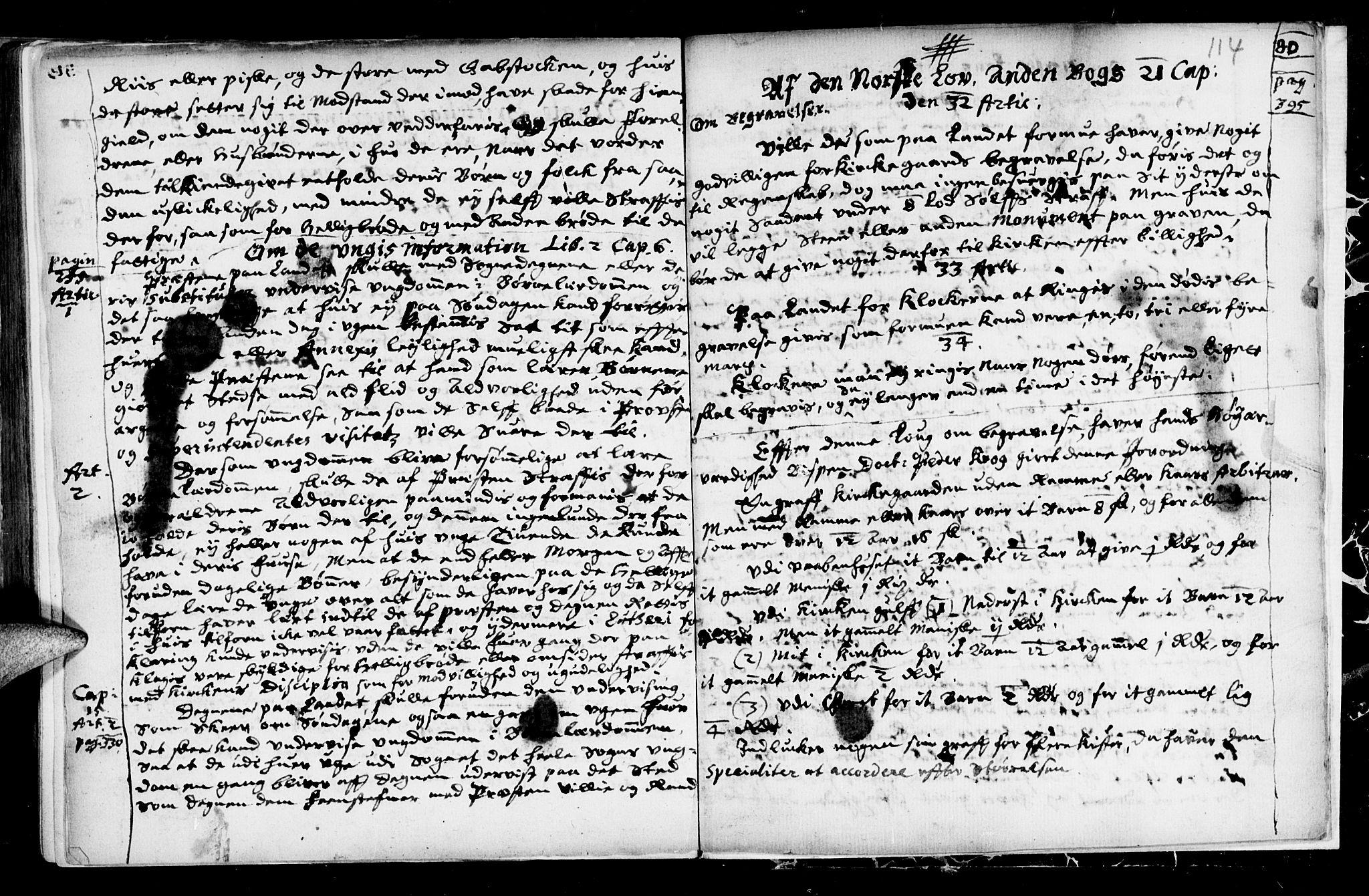 SAT, Ministerialprotokoller, klokkerbøker og fødselsregistre - Sør-Trøndelag, 689/L1036: Ministerialbok nr. 689A01, 1696-1746, s. 114