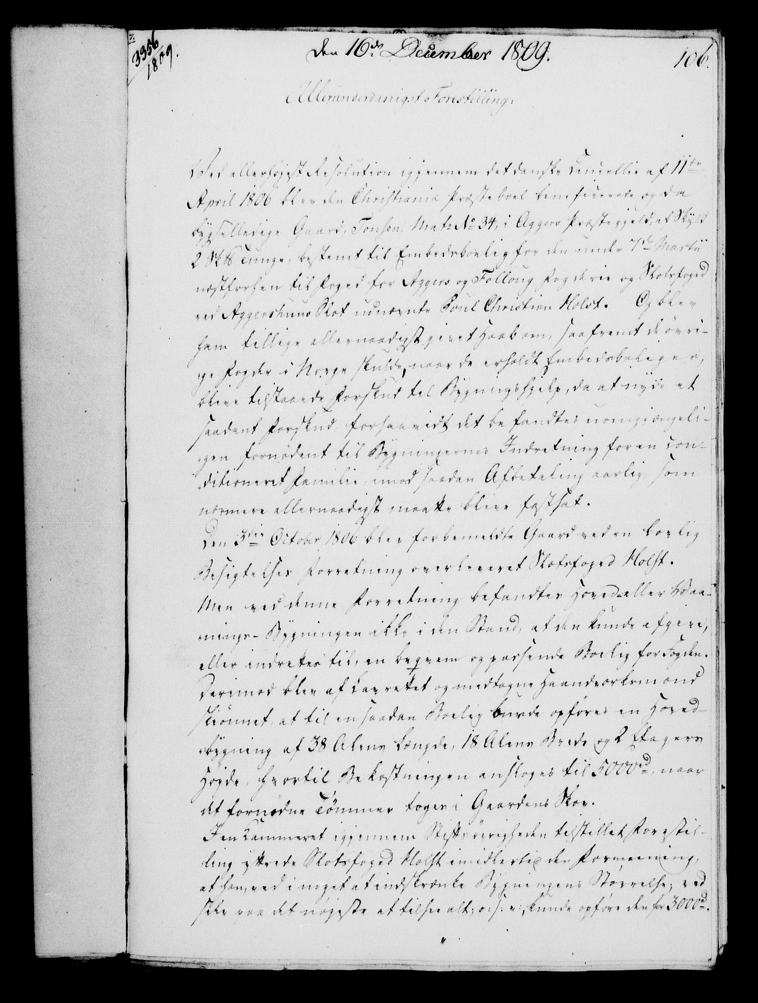 RA, Rentekammeret, Kammerkanselliet, G/Gf/Gfa/L0091: Norsk relasjons- og resolusjonsprotokoll (merket RK 52.91), 1809, s. 428