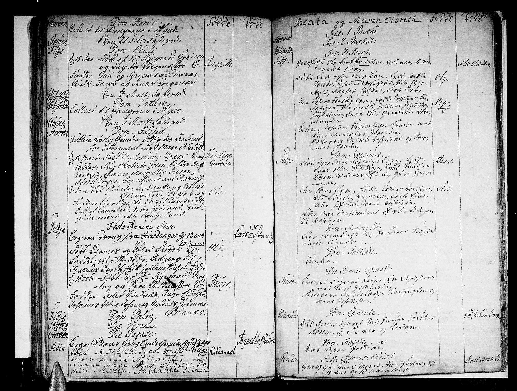 SAB, Stord Sokneprestembete, H/Haa: Ministerialbok nr. A 1, 1725-1744, s. 77