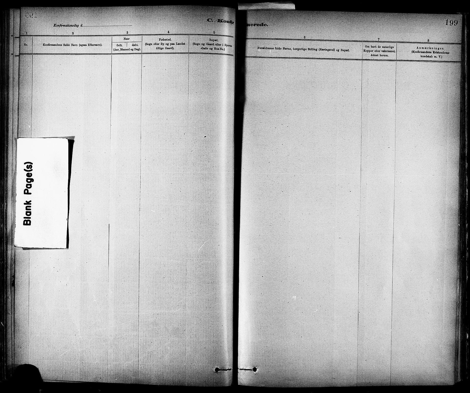 SAT, Ministerialprotokoller, klokkerbøker og fødselsregistre - Sør-Trøndelag, 647/L0634: Ministerialbok nr. 647A01, 1885-1896, s. 199