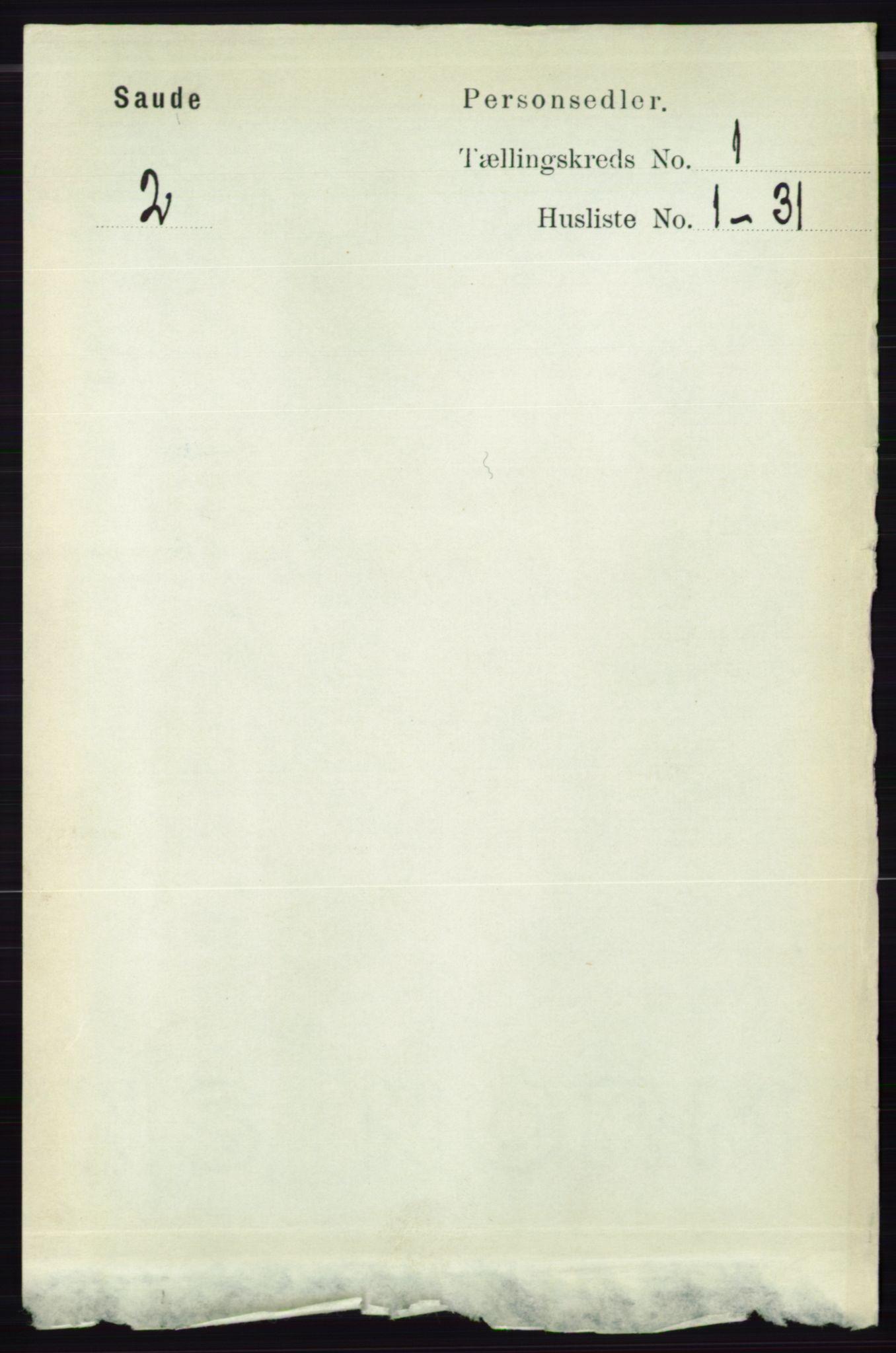 RA, Folketelling 1891 for 0822 Sauherad herred, 1891, s. 99