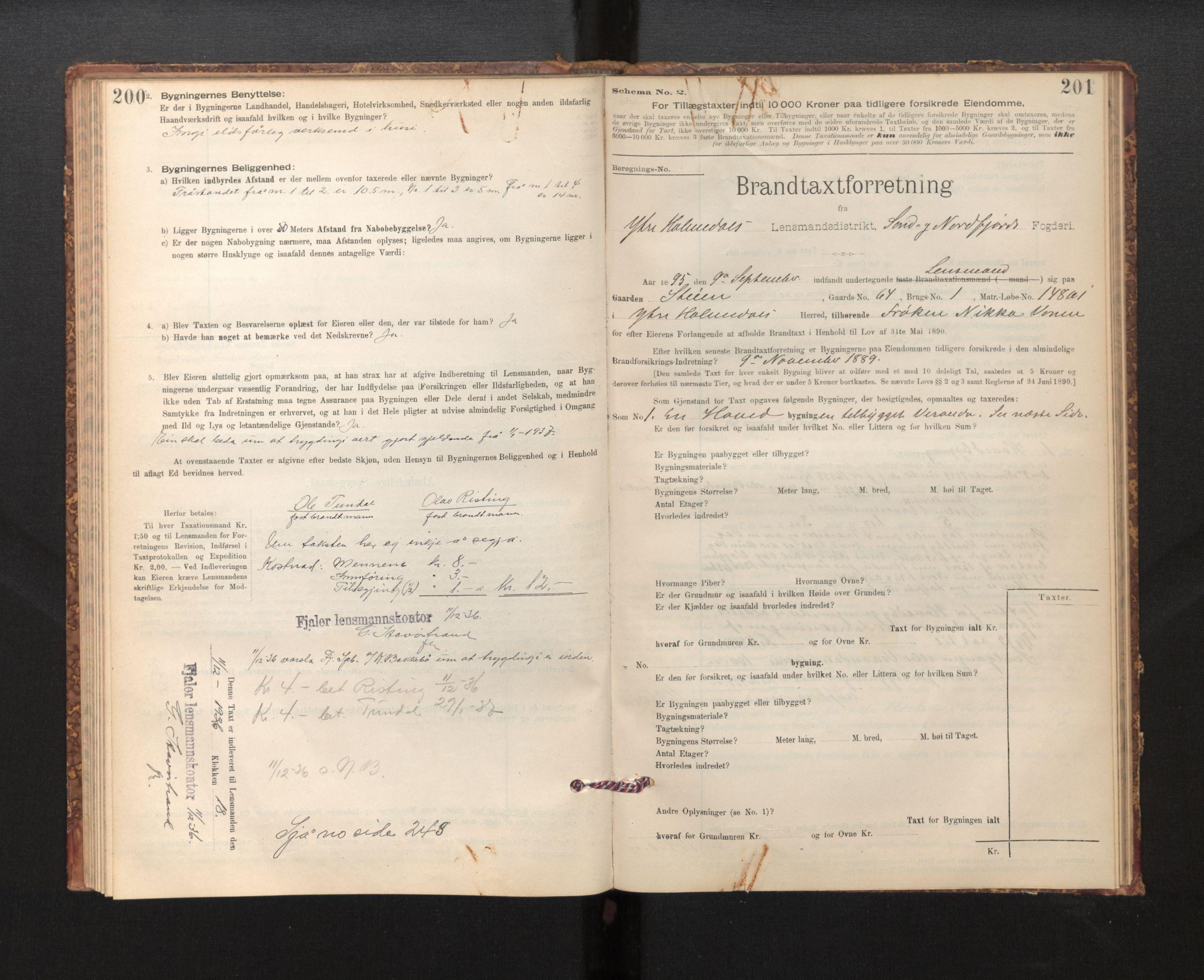 SAB, Lensmannen i Fjaler, 0012, 1895-1937, s. 200-201