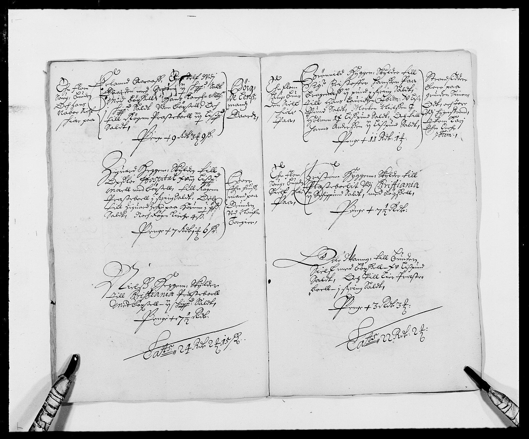 RA, Rentekammeret inntil 1814, Reviderte regnskaper, Fogderegnskap, R29/L1691: Fogderegnskap Hurum og Røyken, 1678-1681, s. 275
