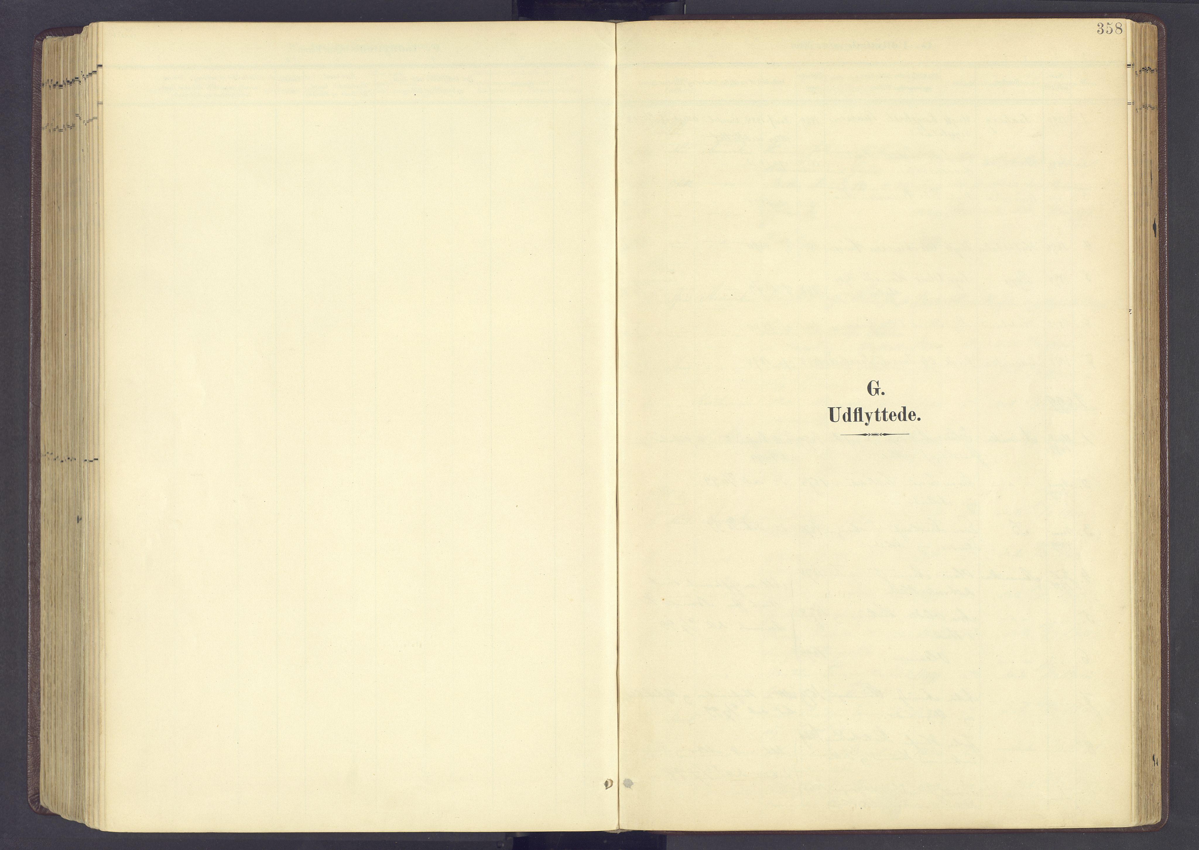 SAH, Sør-Fron prestekontor, H/Ha/Haa/L0004: Ministerialbok nr. 4, 1898-1919, s. 358
