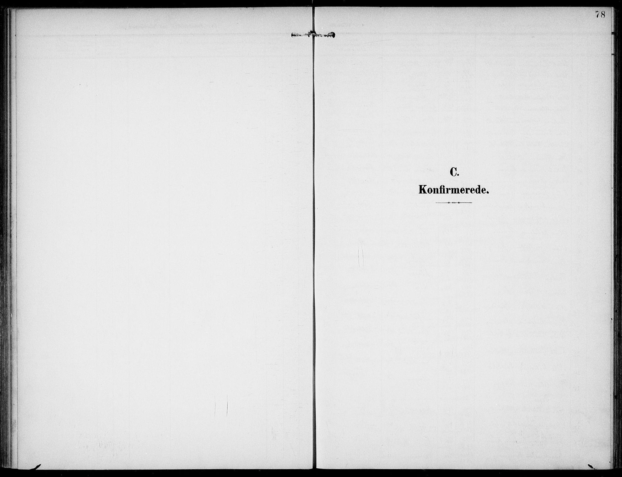 SAKO, Lunde kirkebøker, F/Fa/L0004: Ministerialbok nr. I 4, 1902-1913, s. 78