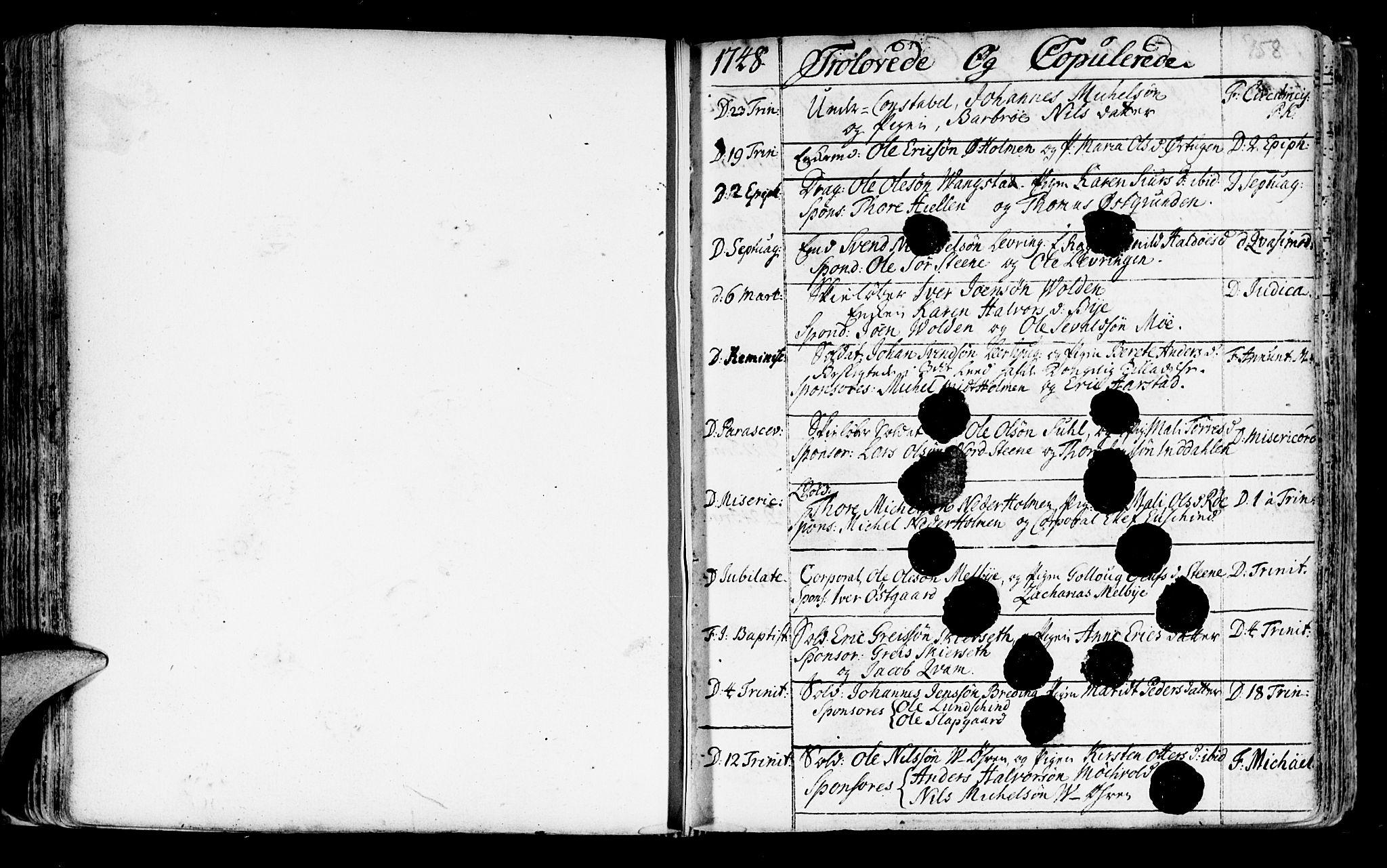 SAT, Ministerialprotokoller, klokkerbøker og fødselsregistre - Nord-Trøndelag, 723/L0231: Ministerialbok nr. 723A02, 1748-1780, s. 158