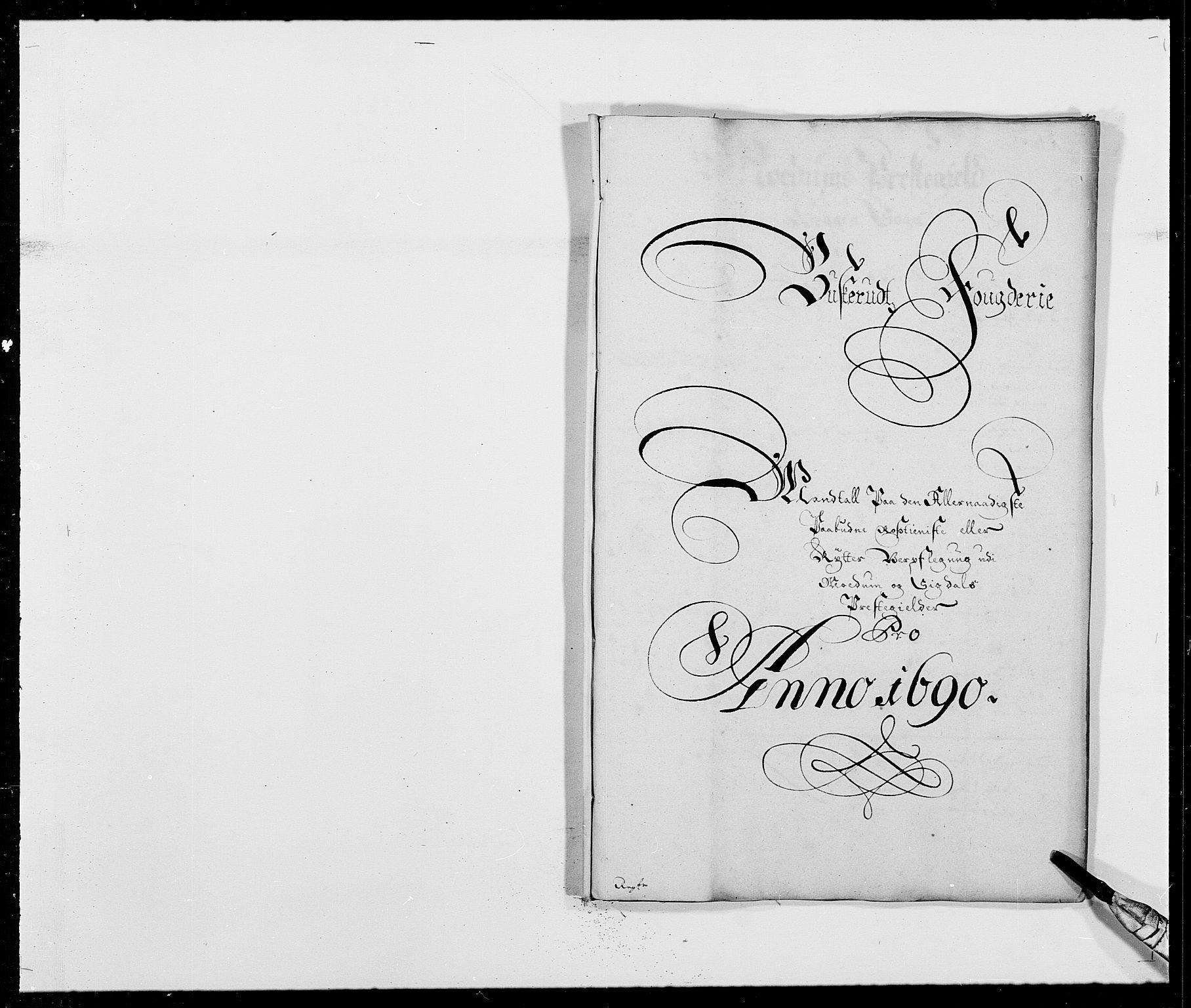 RA, Rentekammeret inntil 1814, Reviderte regnskaper, Fogderegnskap, R25/L1680: Fogderegnskap Buskerud, 1689-1690, s. 393