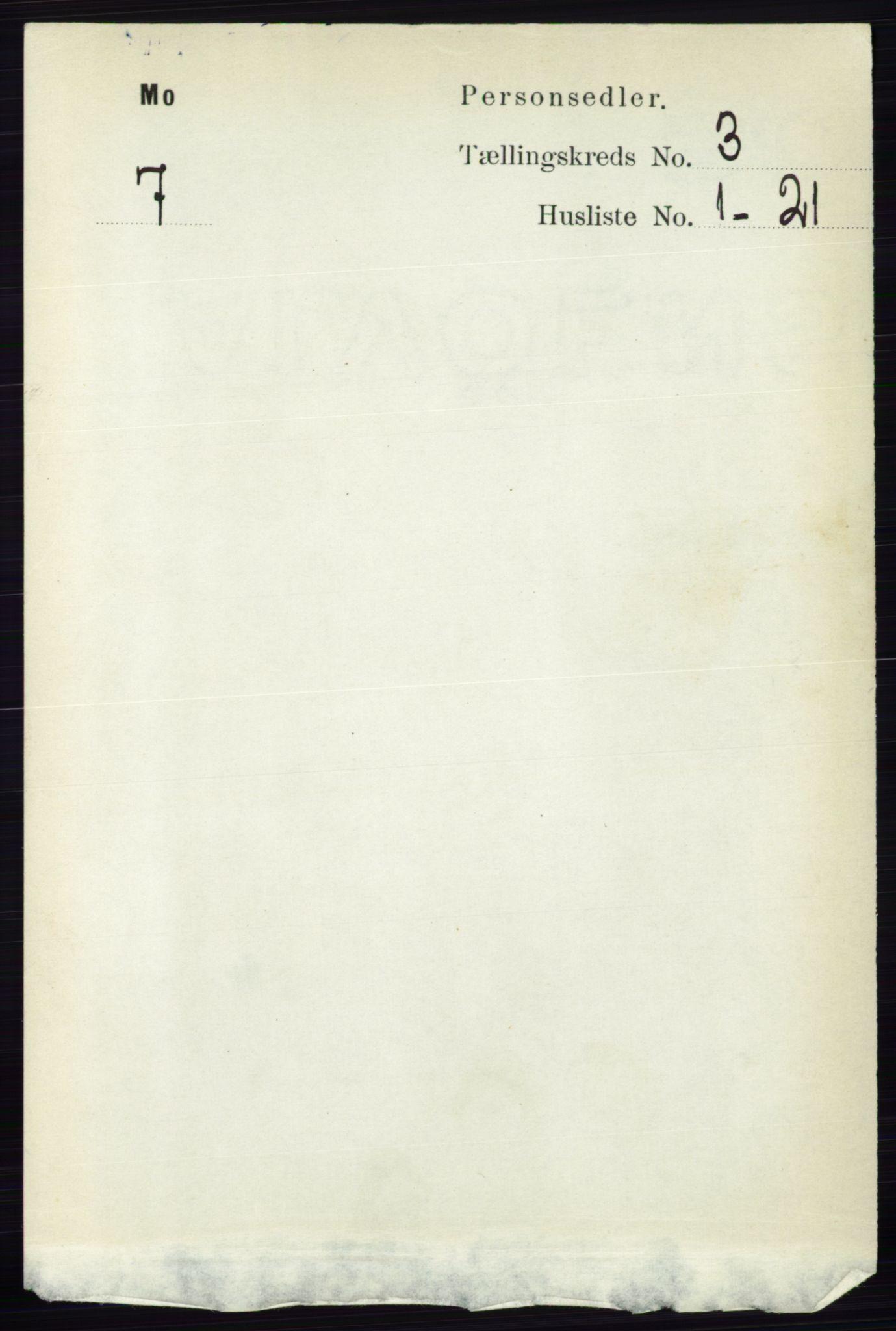 RA, Folketelling 1891 for 0832 Mo herred, 1891, s. 725